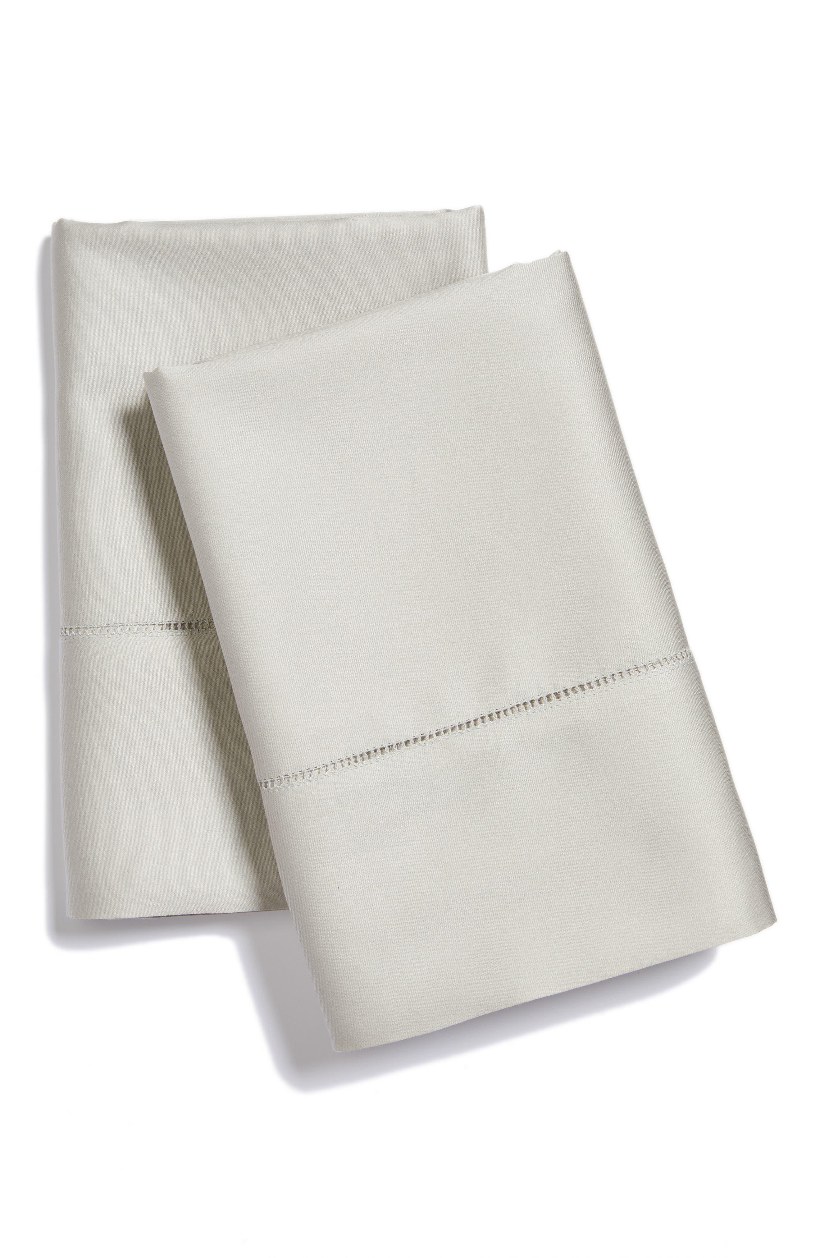 SFERRA Fiona Pillowcases, Main, color, 020