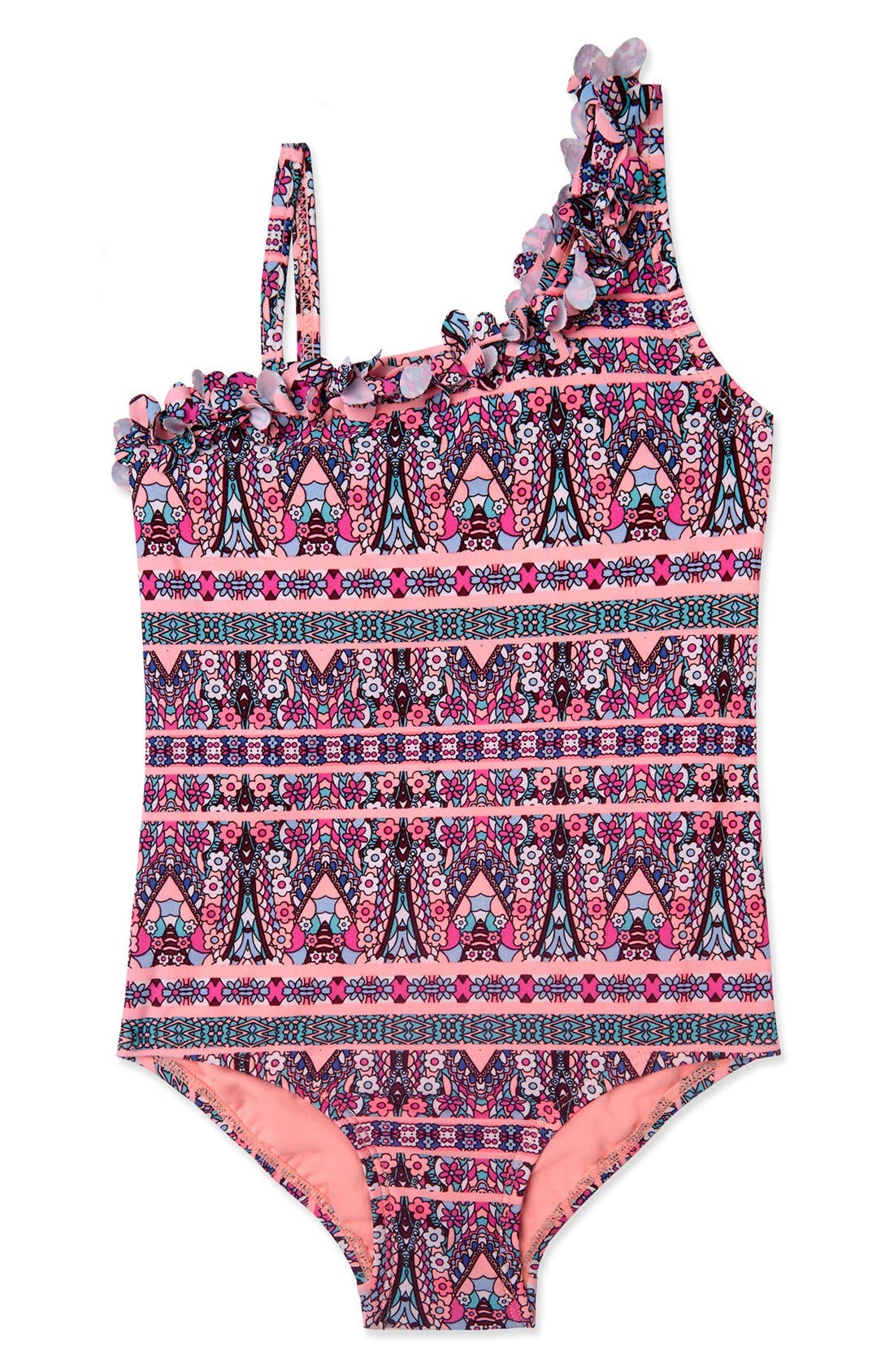 'Princess' One-Piece Swimsuit,                         Main,                         color, 696