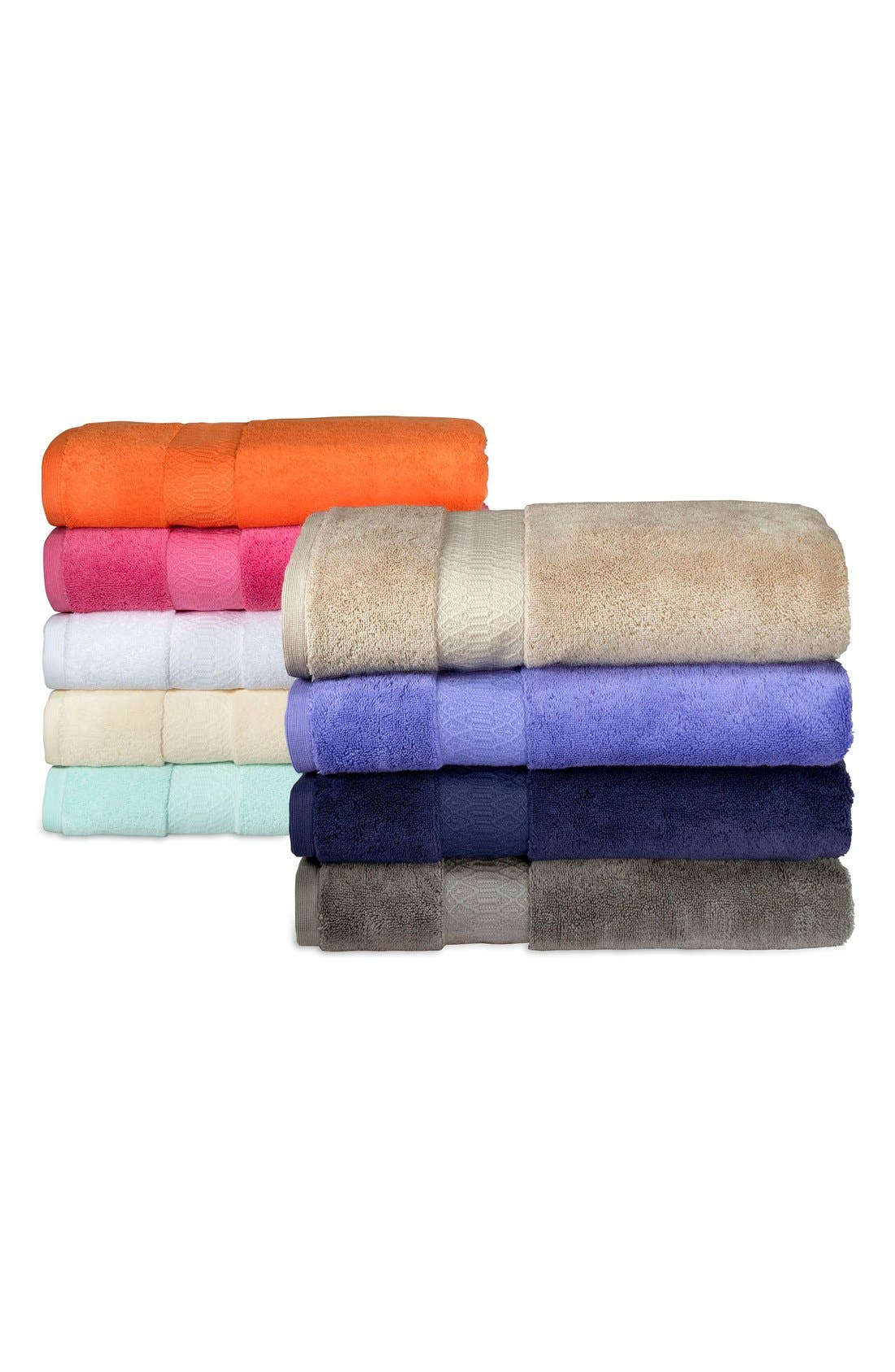 'Kalan' Supima<sup>®</sup> Cotton Bath Towel,                             Alternate thumbnail 4, color,                             020