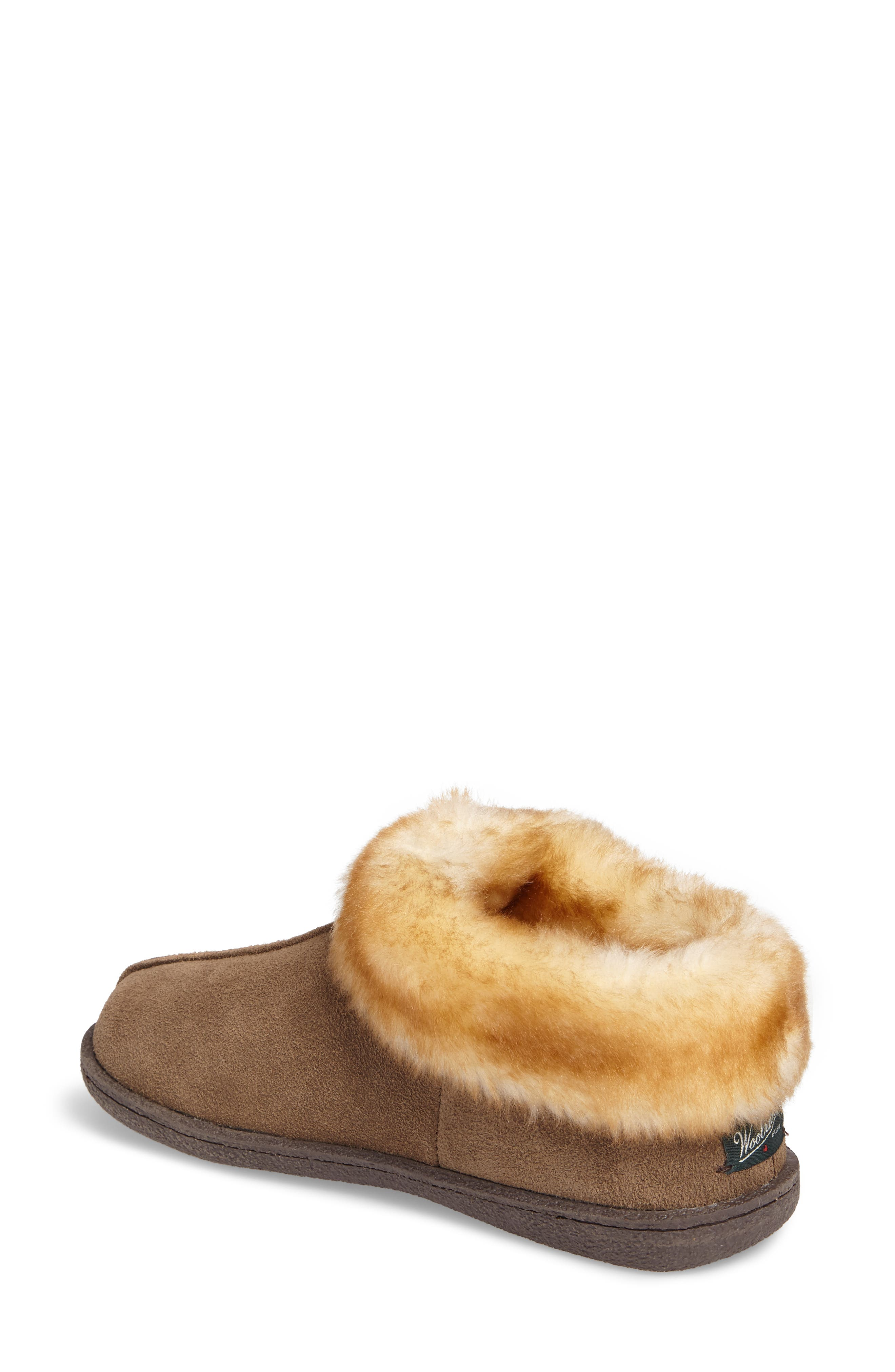 Autumn Ridge II Faux Fur Slipper Bootie,                             Alternate thumbnail 4, color,