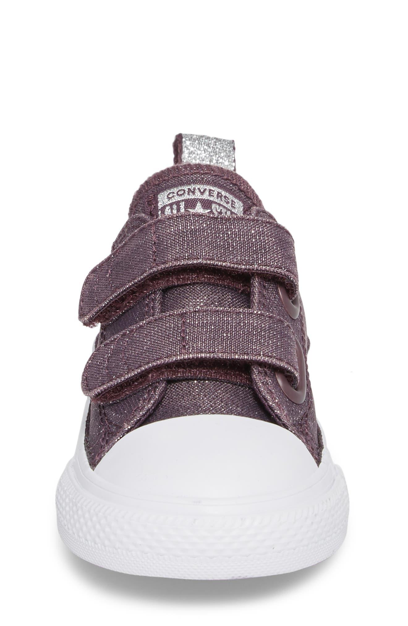 All Star<sup>®</sup> Shimmer 2V Sneaker,                             Alternate thumbnail 4, color,                             555