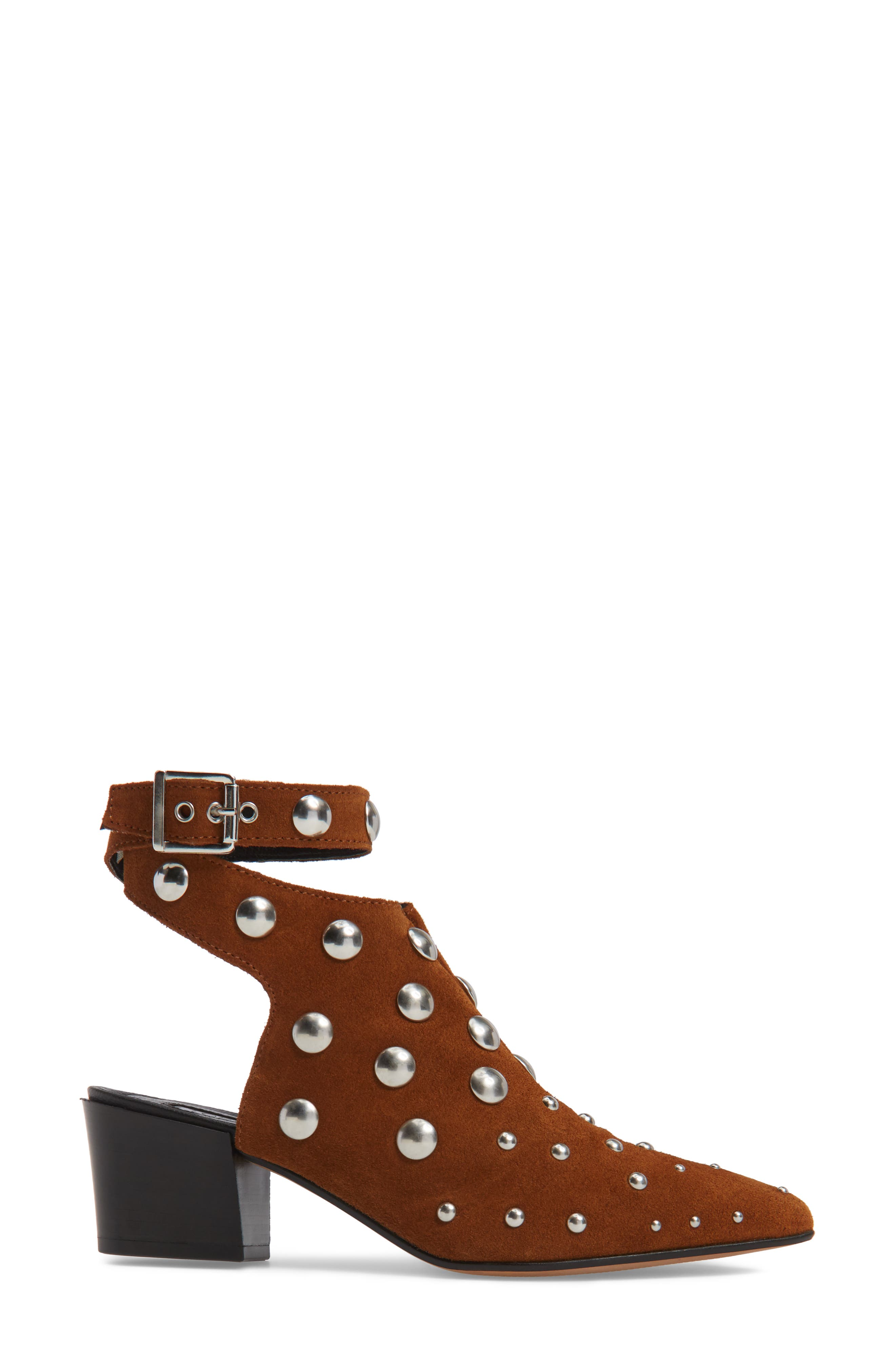 Madness Studded Wraparound Bootie,                             Alternate thumbnail 6, color,