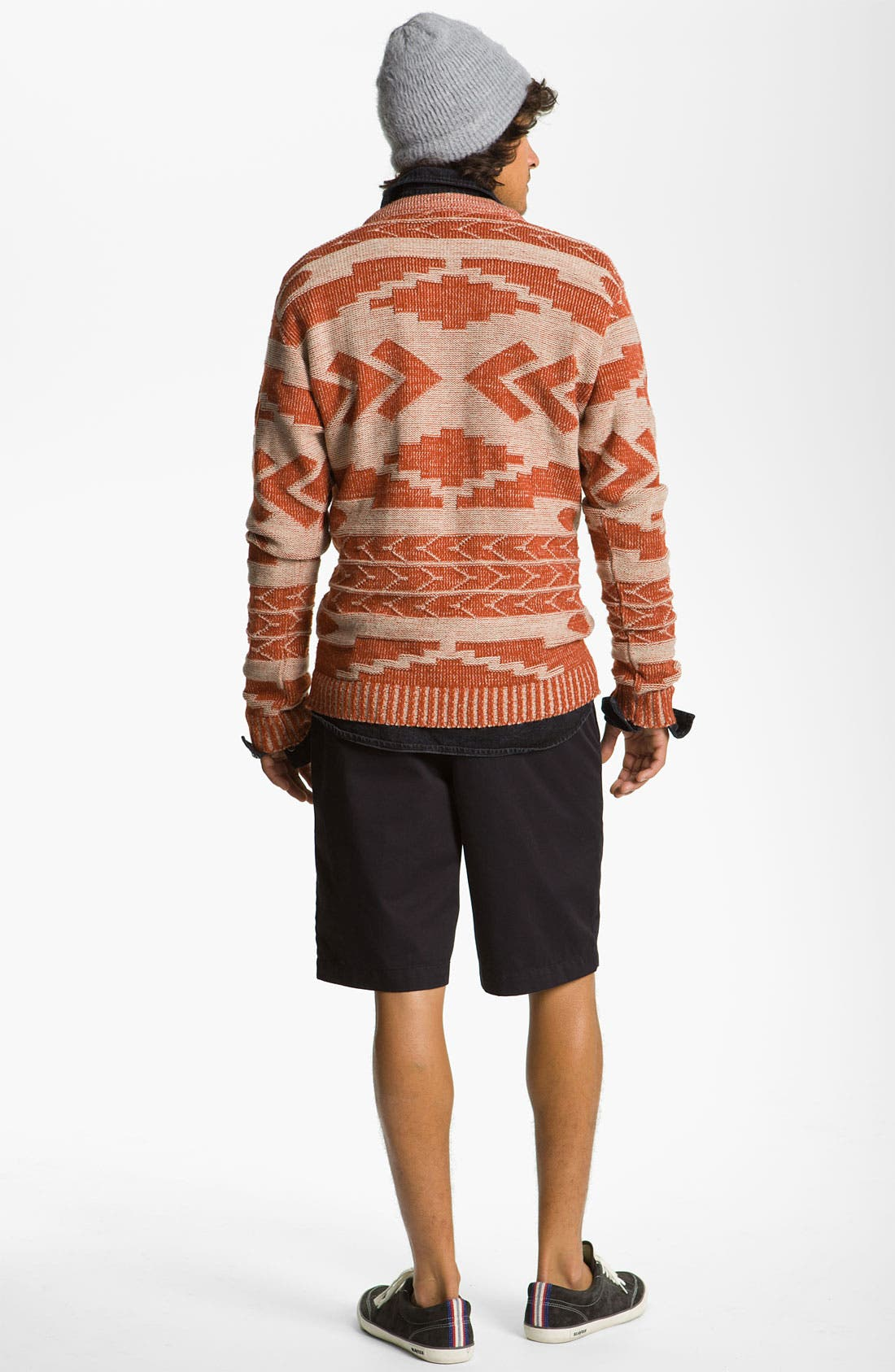 'Geronimo' Pattern Knit Sweater,                             Alternate thumbnail 5, color,                             110