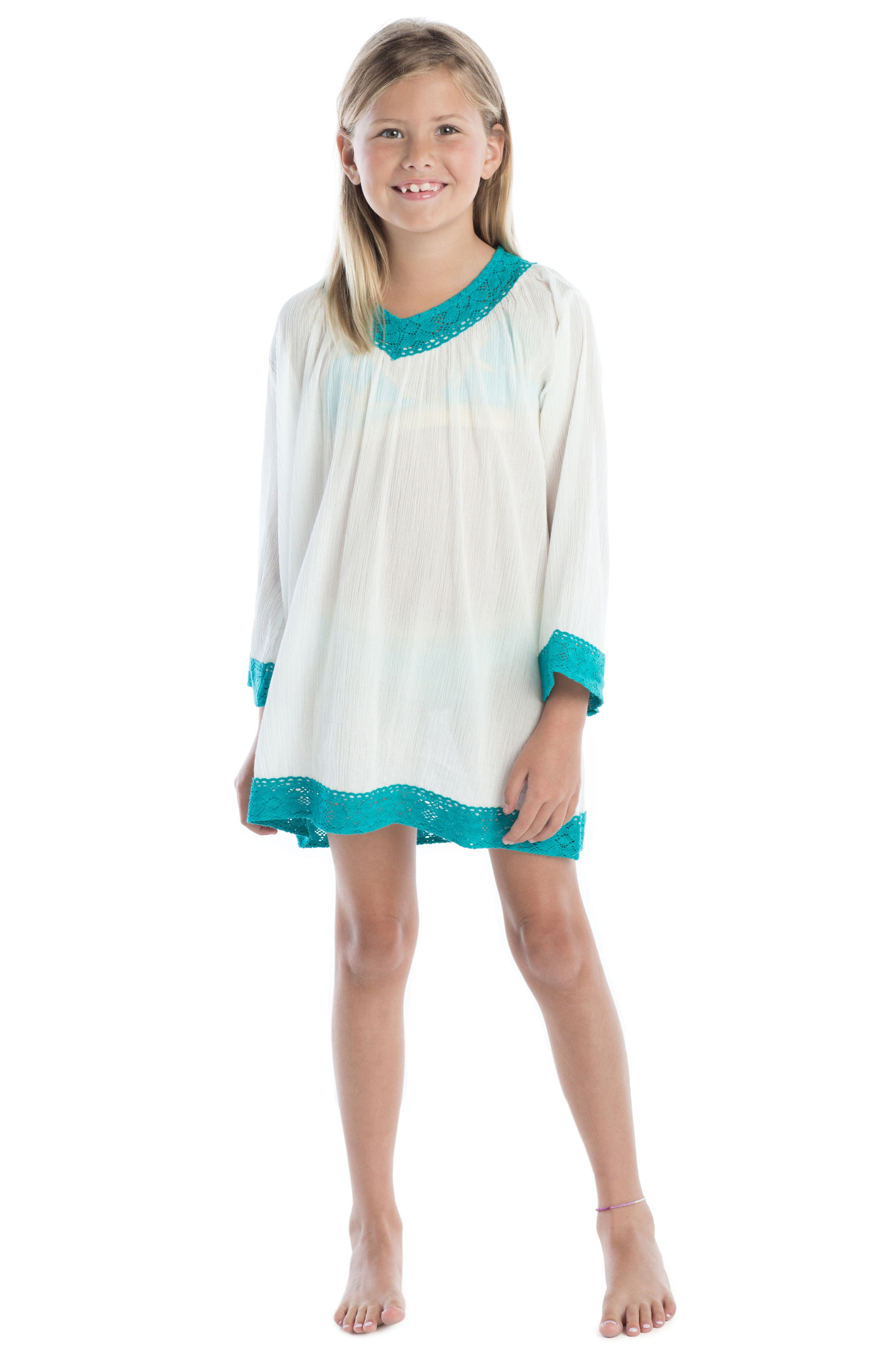 Sweet Escape Cover-Up Tunic,                             Alternate thumbnail 2, color,                             100
