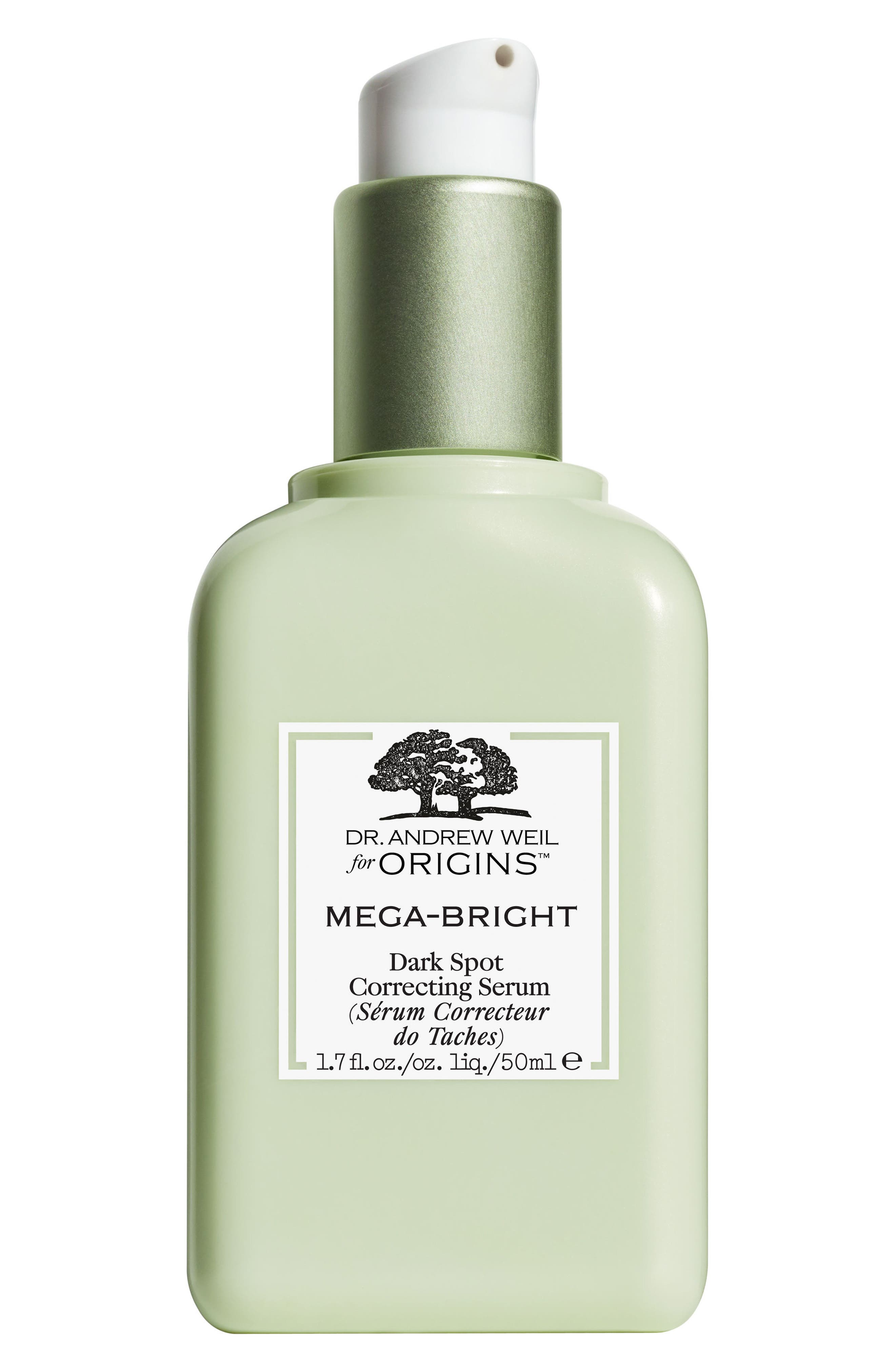 Dr. Andrew Weil for Origins<sup>™</sup> Mega-Bright Dark Spot Correction Serum,                         Main,                         color, NO COLOR