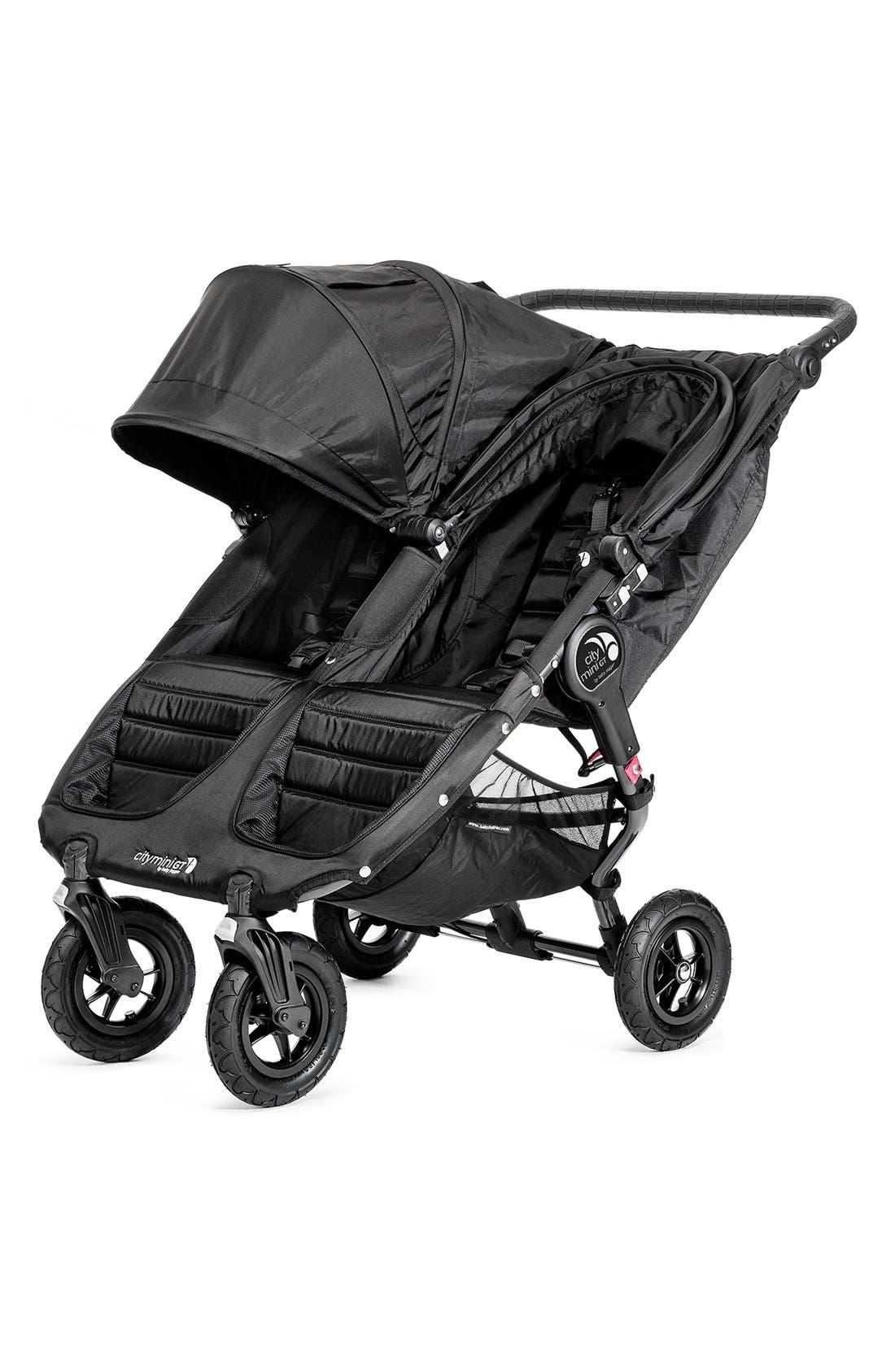 City Mini<sup>®</sup> GT Double Stroller,                             Alternate thumbnail 2, color,                             BLACK