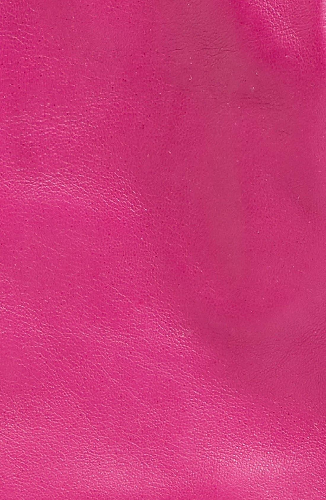 Short Leather Gloves,                             Alternate thumbnail 13, color,