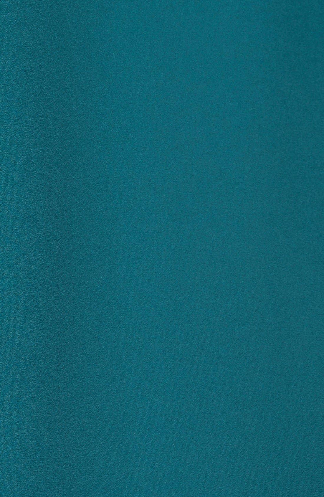 Cuff Sleeve Woven Tee,                             Alternate thumbnail 186, color,
