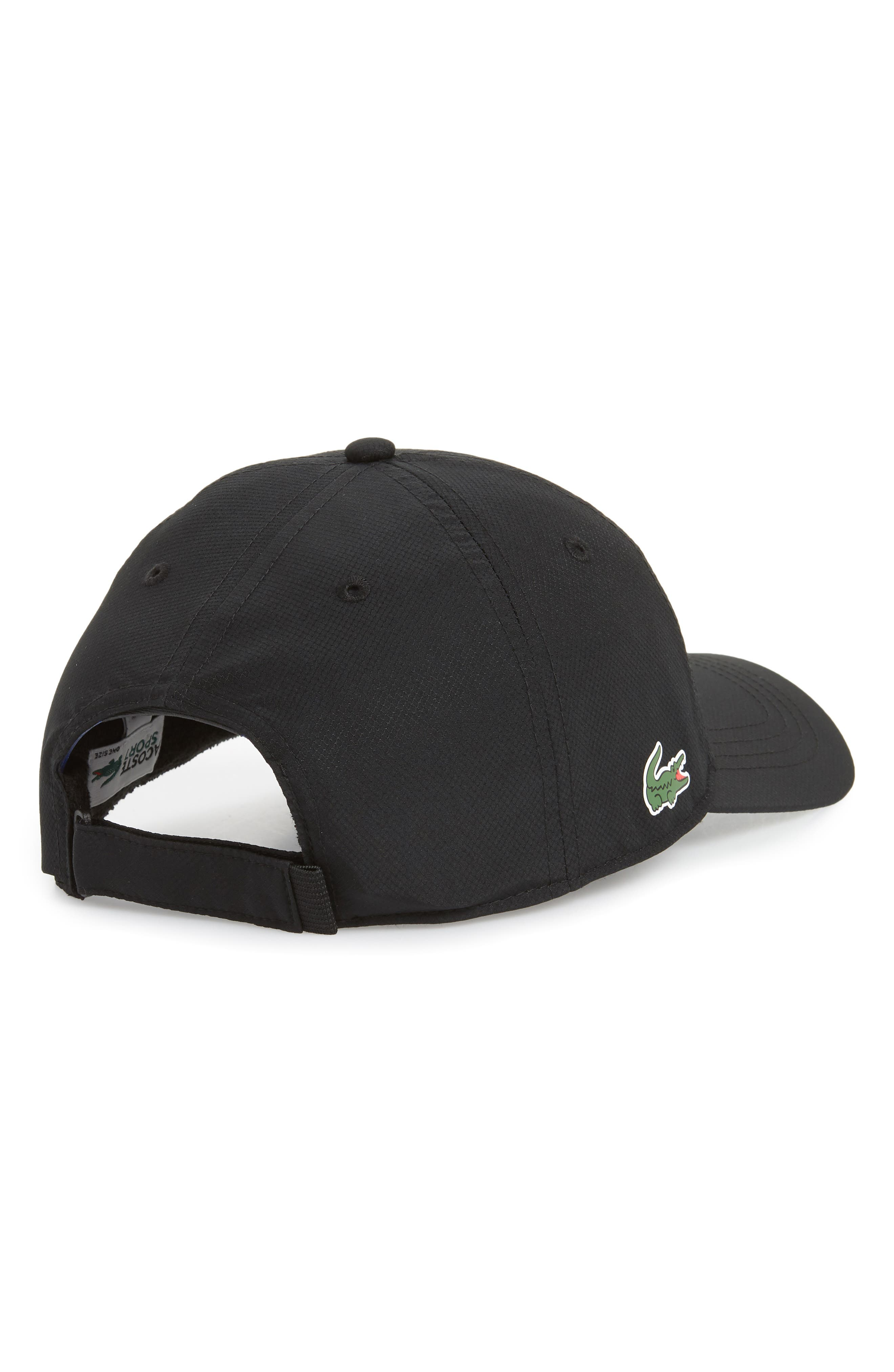 Sport Baseball Cap,                             Alternate thumbnail 2, color,                             BLACK
