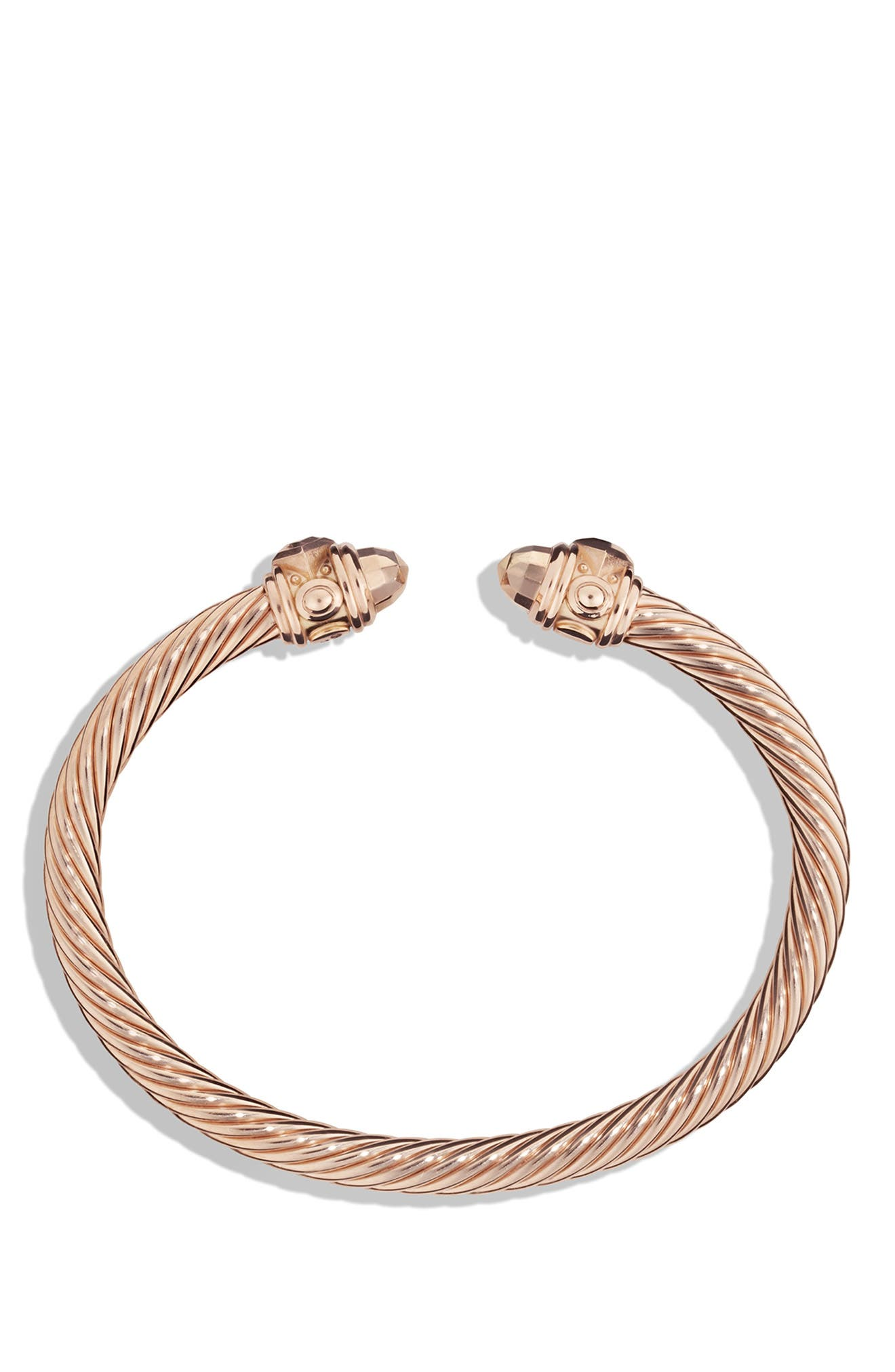 Renaissance Bracelet in 18K Rose Gold, 5mm,                             Alternate thumbnail 2, color,                             ROSE GOLD