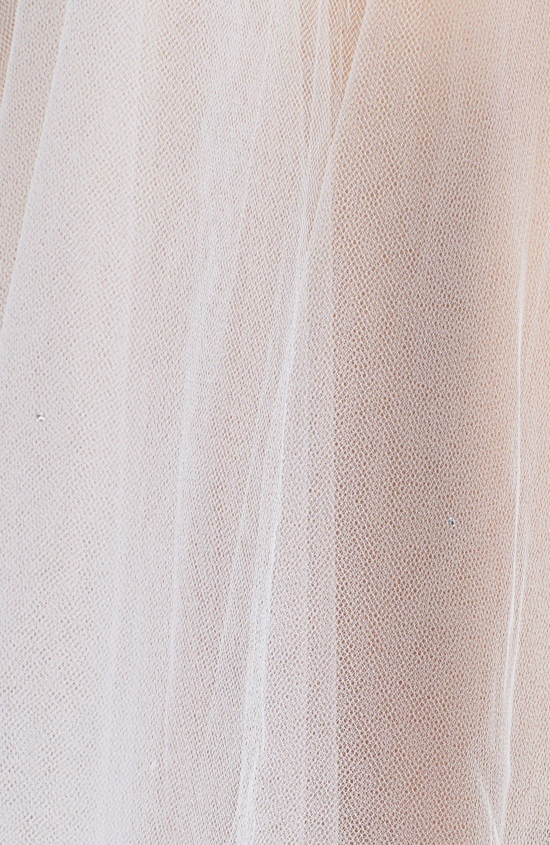 'Madeline - Crystal' Two Tier Veil,                             Alternate thumbnail 5, color,