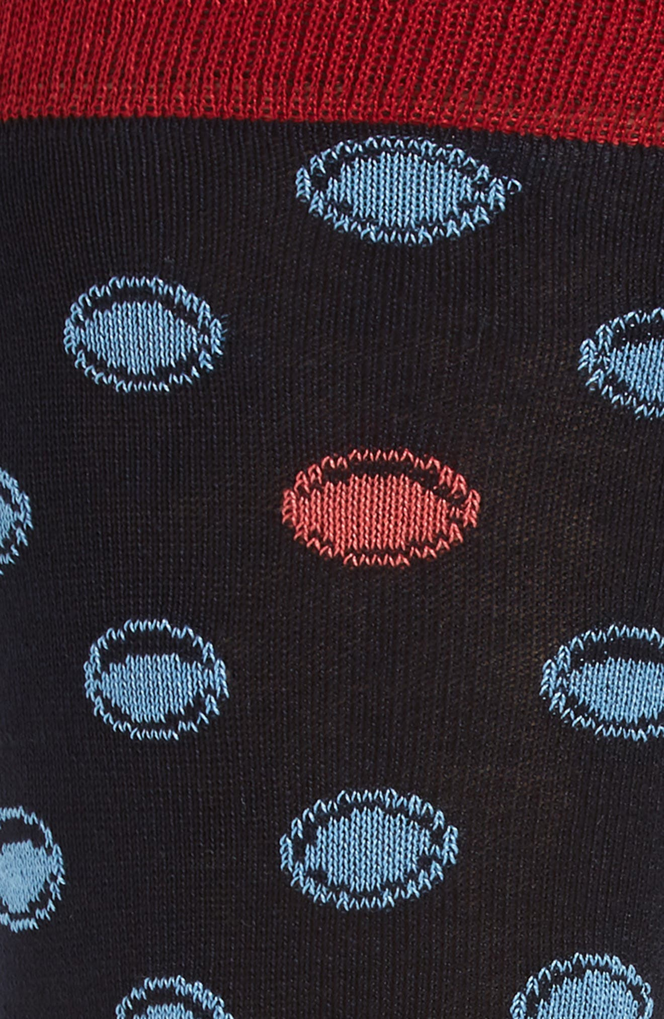 Dot Socks,                             Alternate thumbnail 4, color,