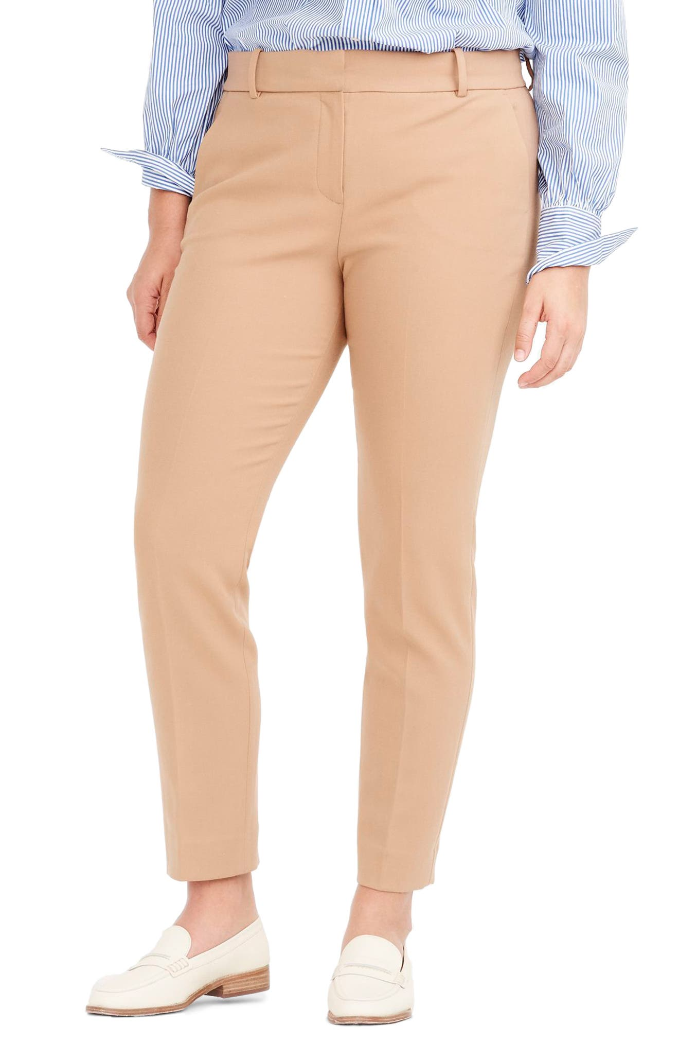 Cameron Four Season Crop Pants,                             Alternate thumbnail 7, color,                             HEATHER SADDLE