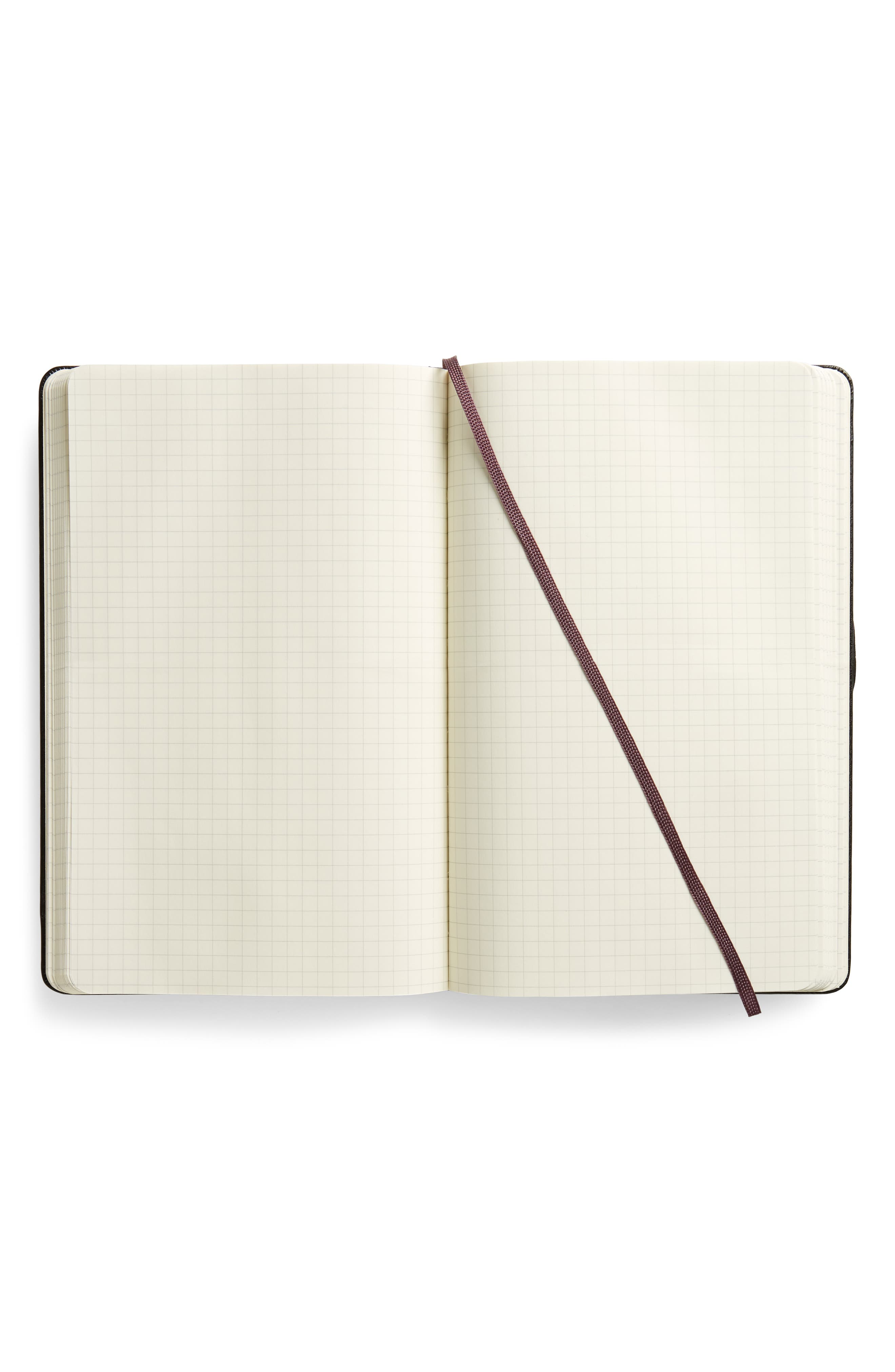 Classic Large Ruled Hardcover Notebook,                             Alternate thumbnail 4, color,