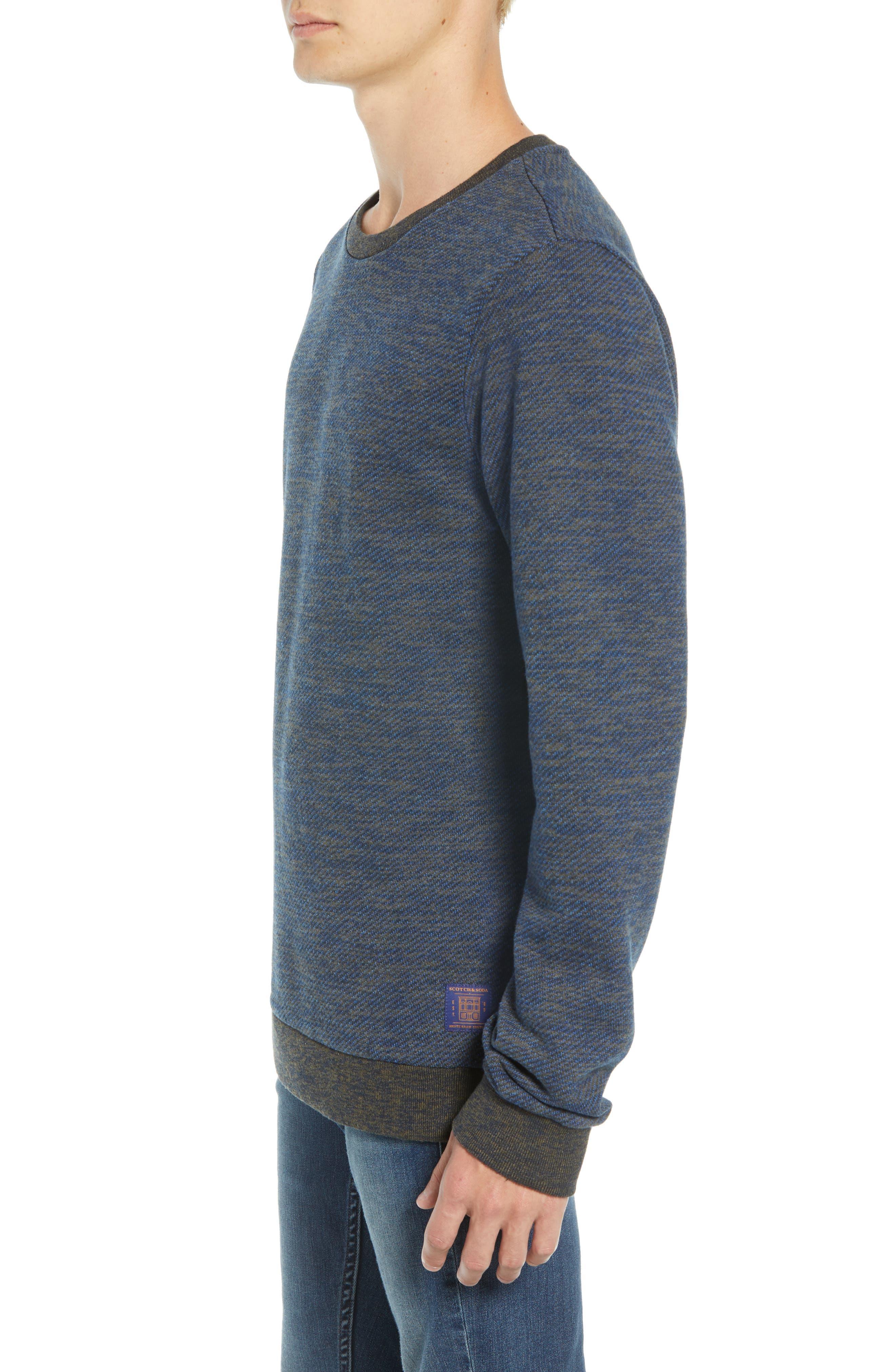 SCOTCH & SODA,                             Crewneck Sweatshirt,                             Alternate thumbnail 3, color,                             410