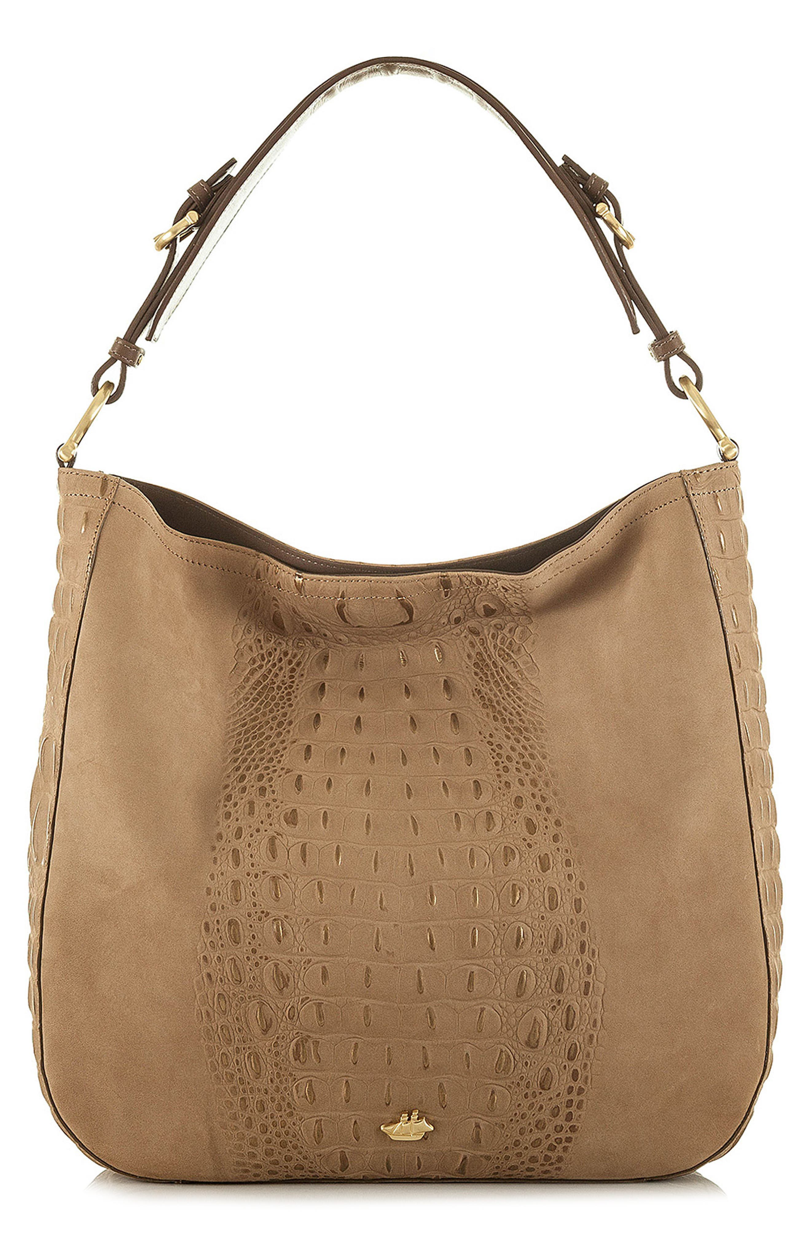 Southcoast Eva Croc-Embossed Leather Tote,                             Main thumbnail 1, color,                             710