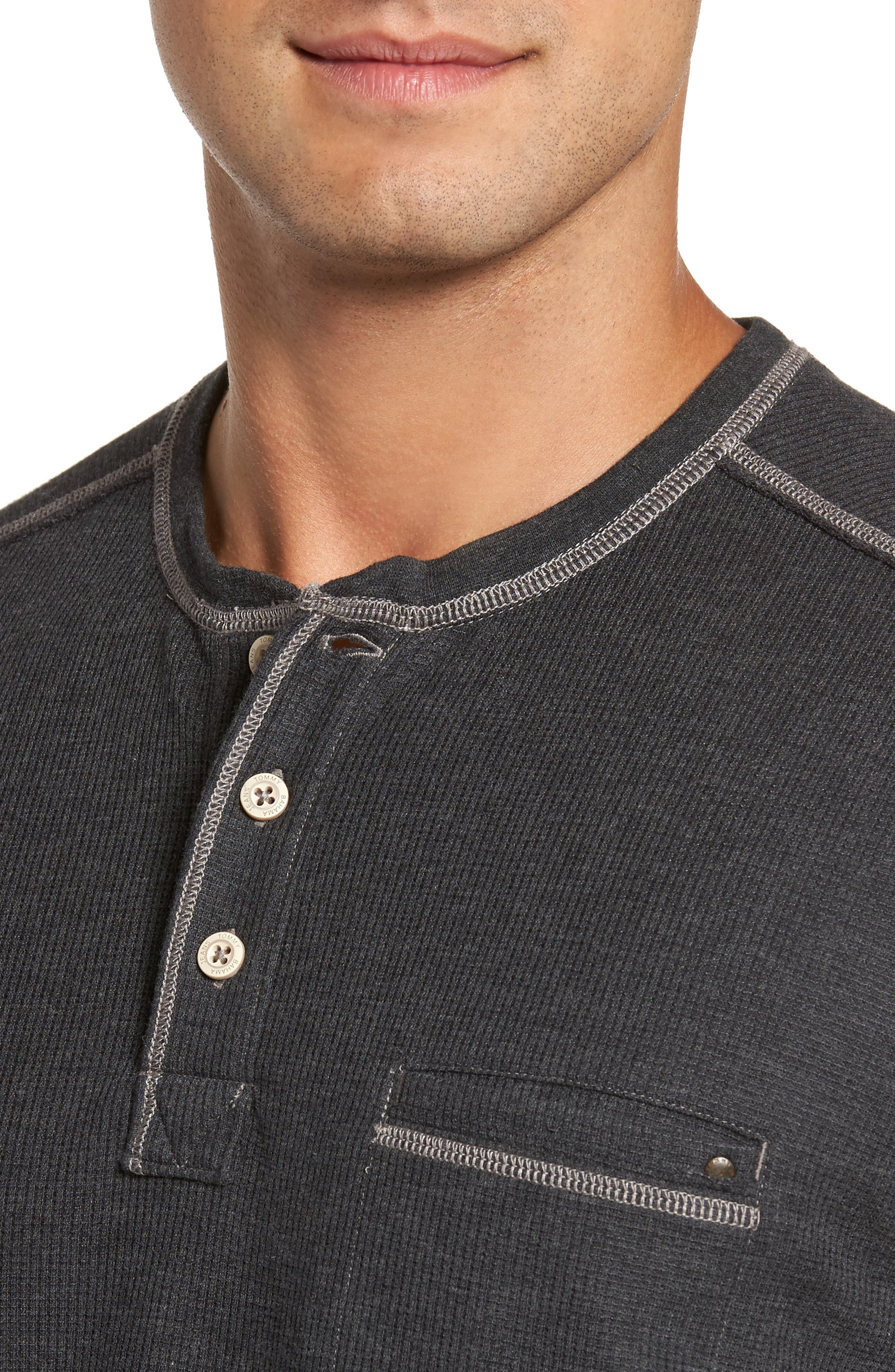 Island Thermal Henley,                             Alternate thumbnail 4, color,                             005