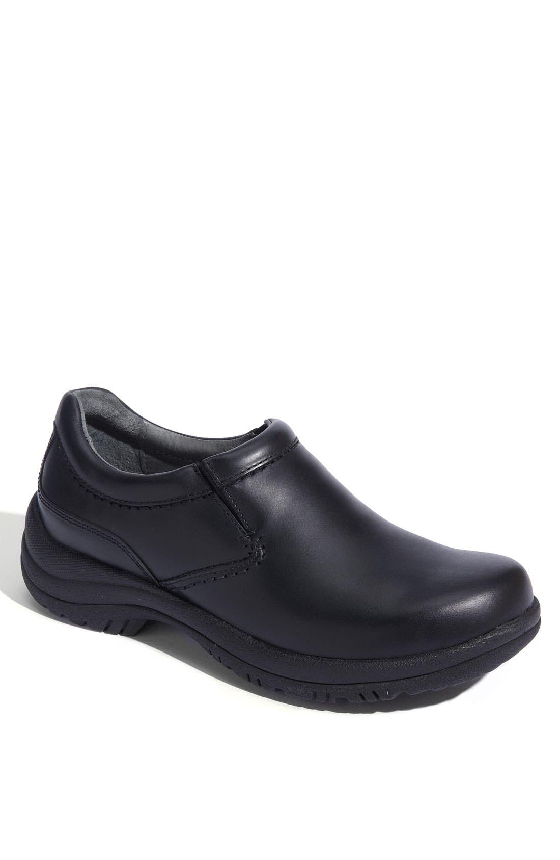 'Wynn' Slip-On,                         Main,                         color, BLACK