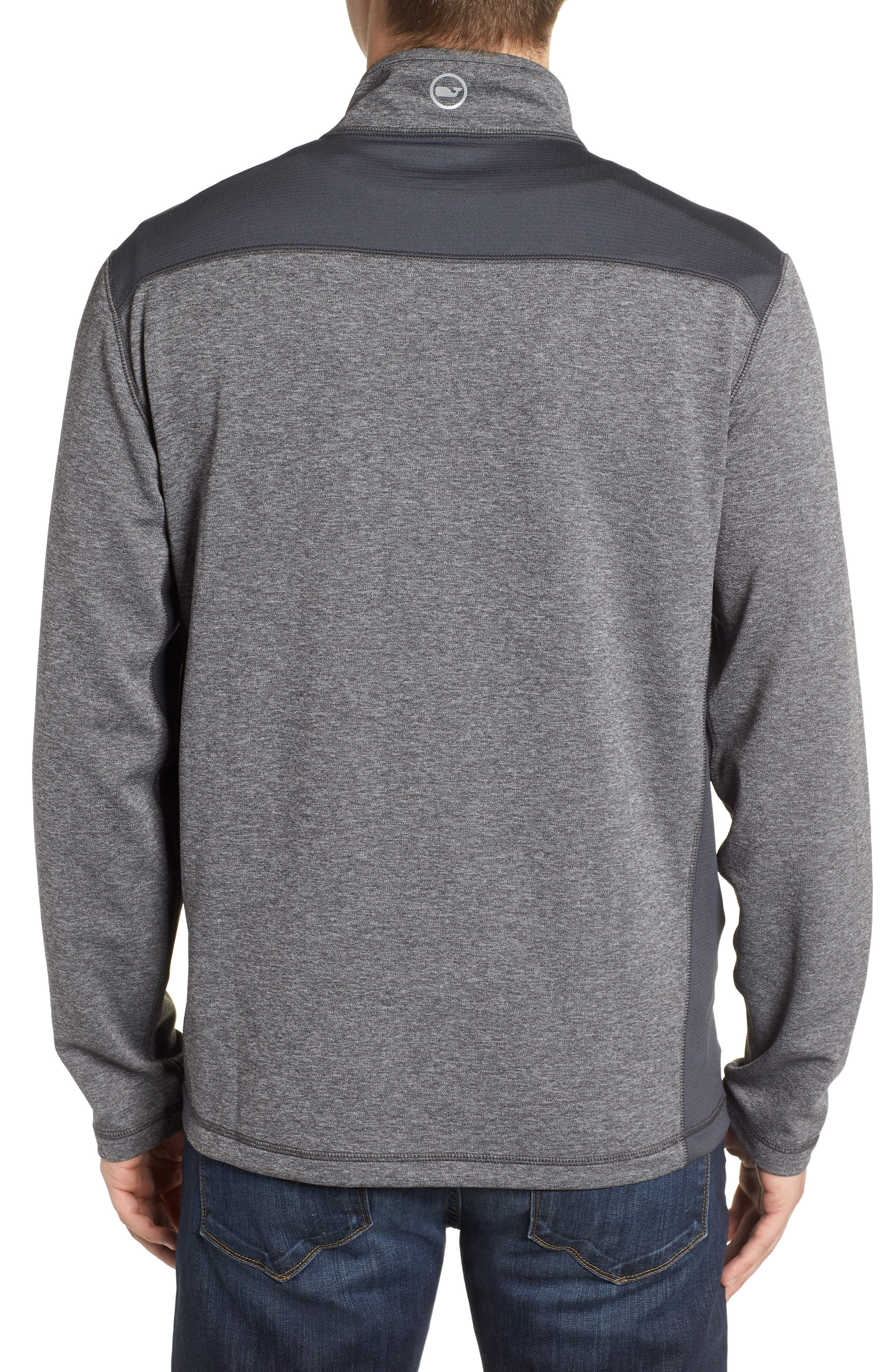 Regular Fit Half Zip Pullover,                             Alternate thumbnail 2, color,                             030