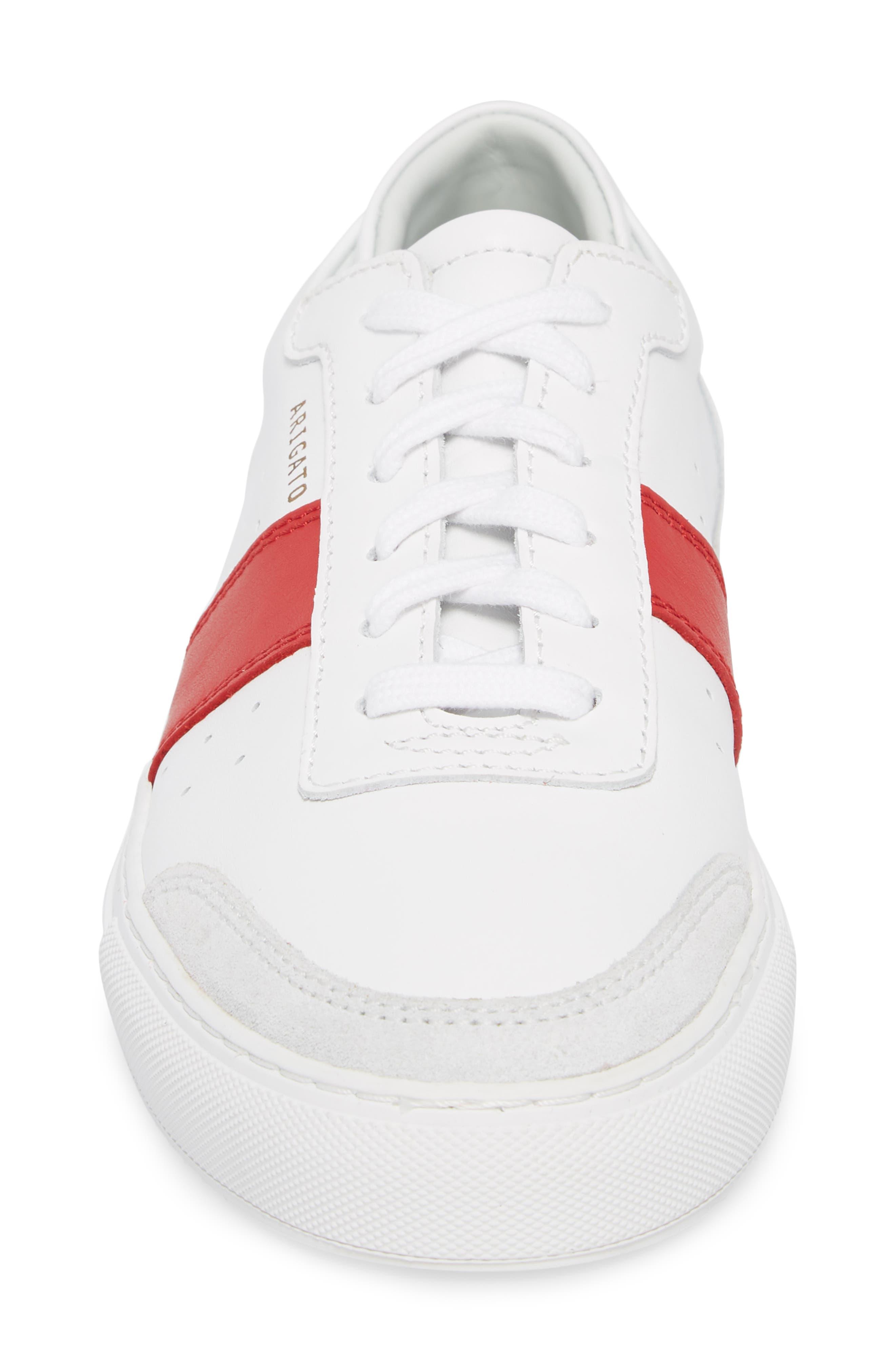 Dunk Striped Sneaker,                             Alternate thumbnail 4, color,
