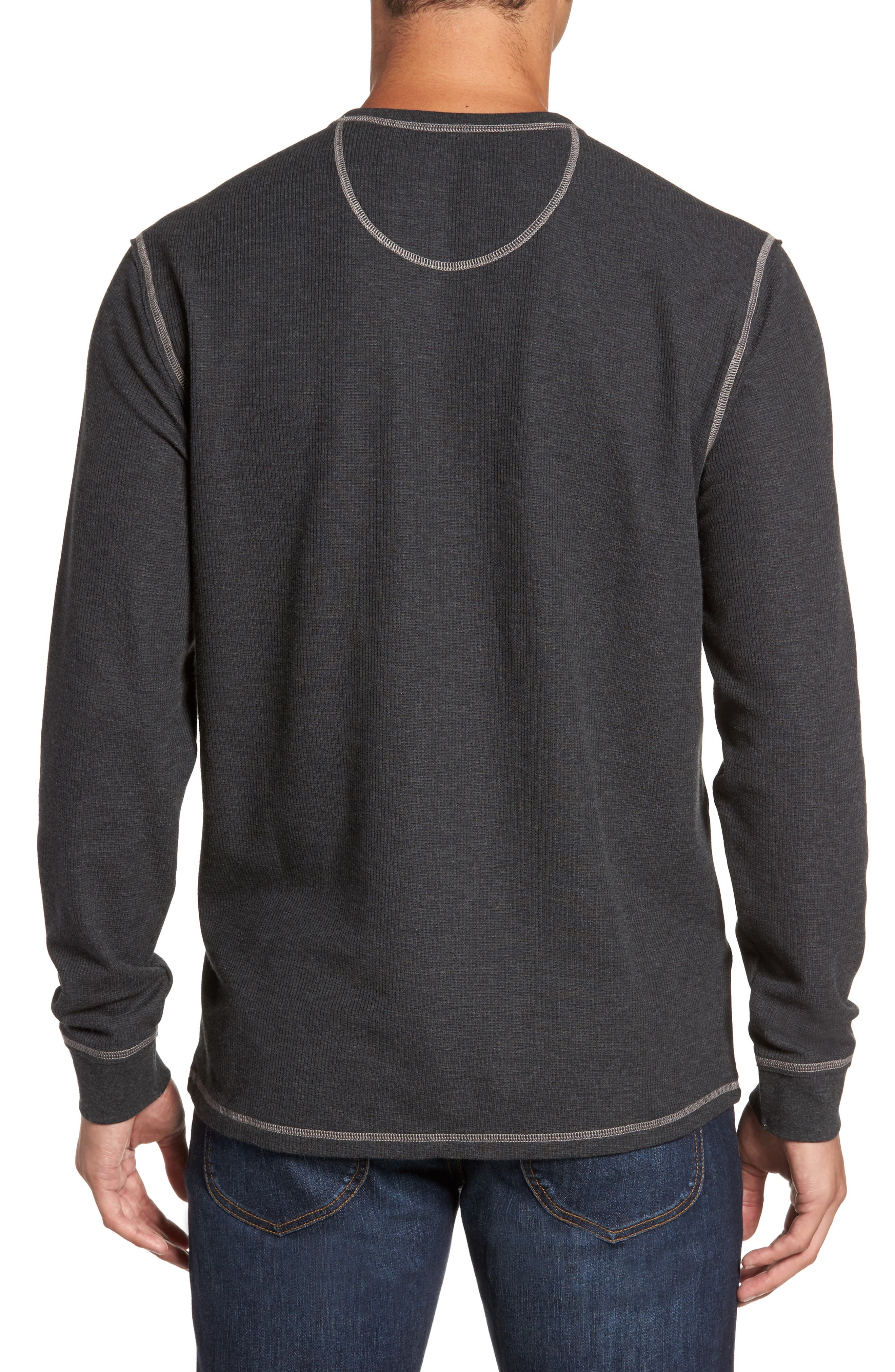 Island Thermal Henley,                             Alternate thumbnail 3, color,