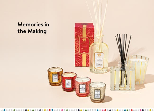 Memories in the making: gifts for the entertainer.
