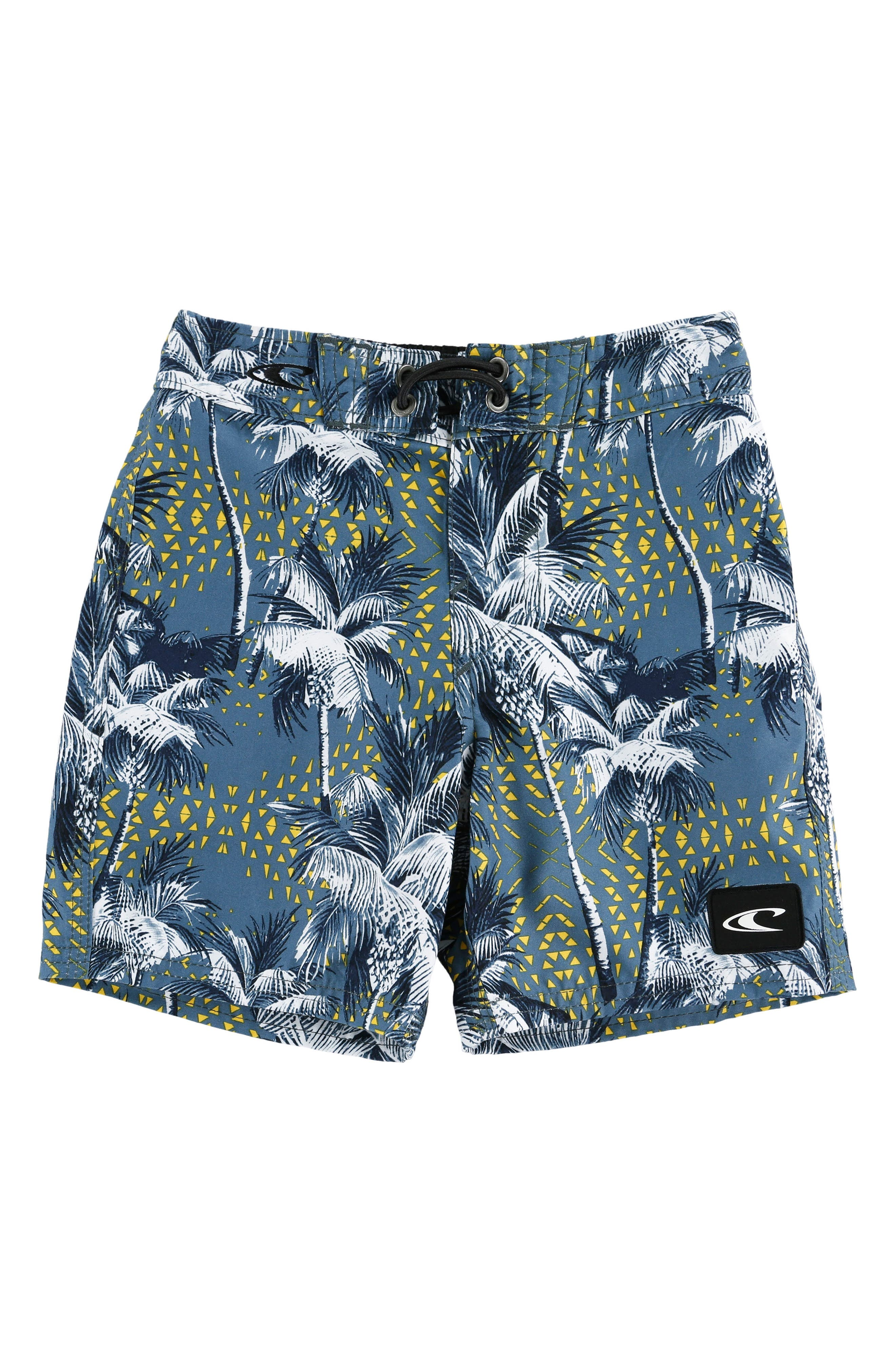 Darn Old Palmer Board Shorts,                         Main,                         color, DUST BLUE