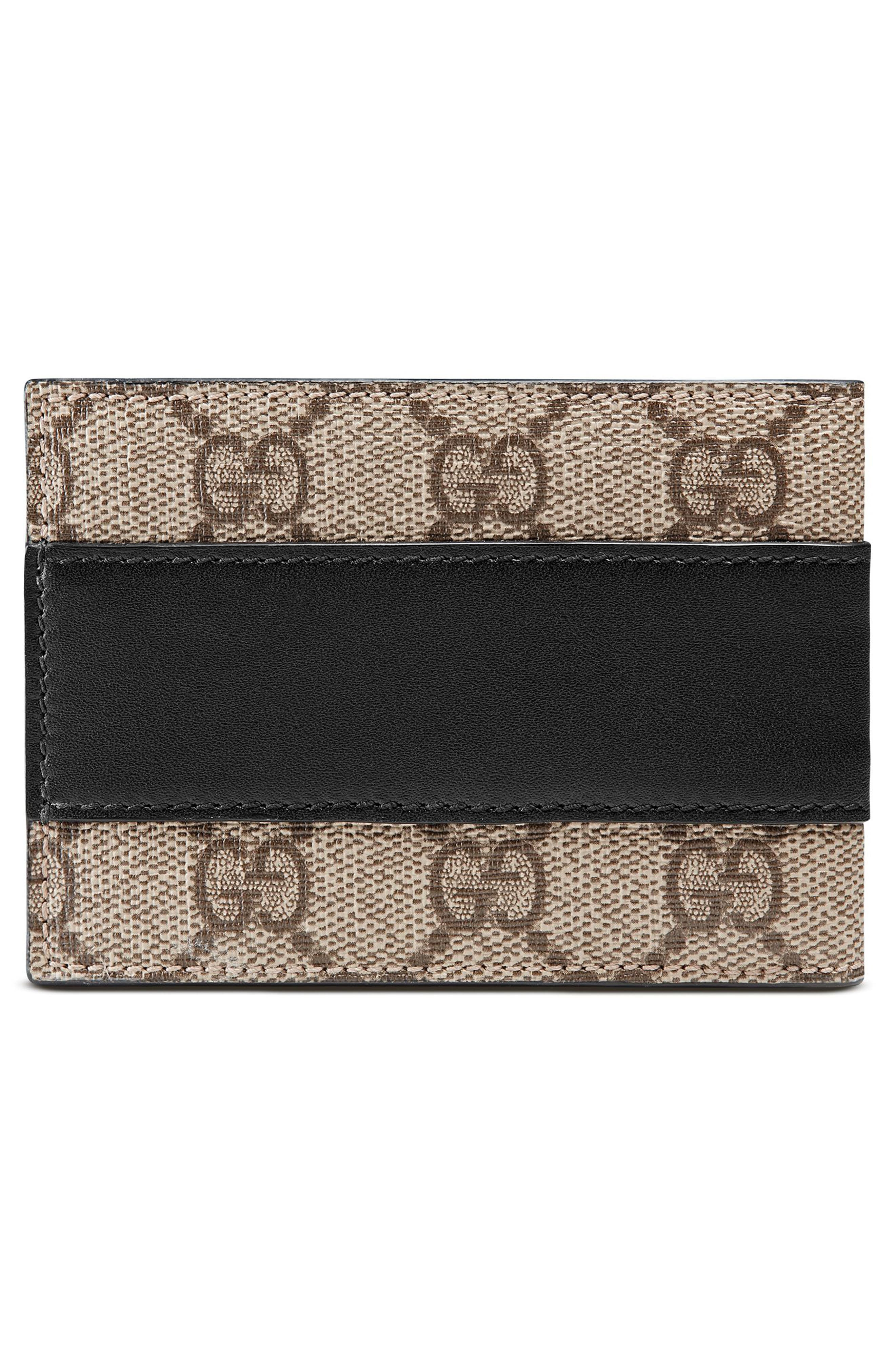 GG Supreme Canvas Wallet,                             Alternate thumbnail 3, color,