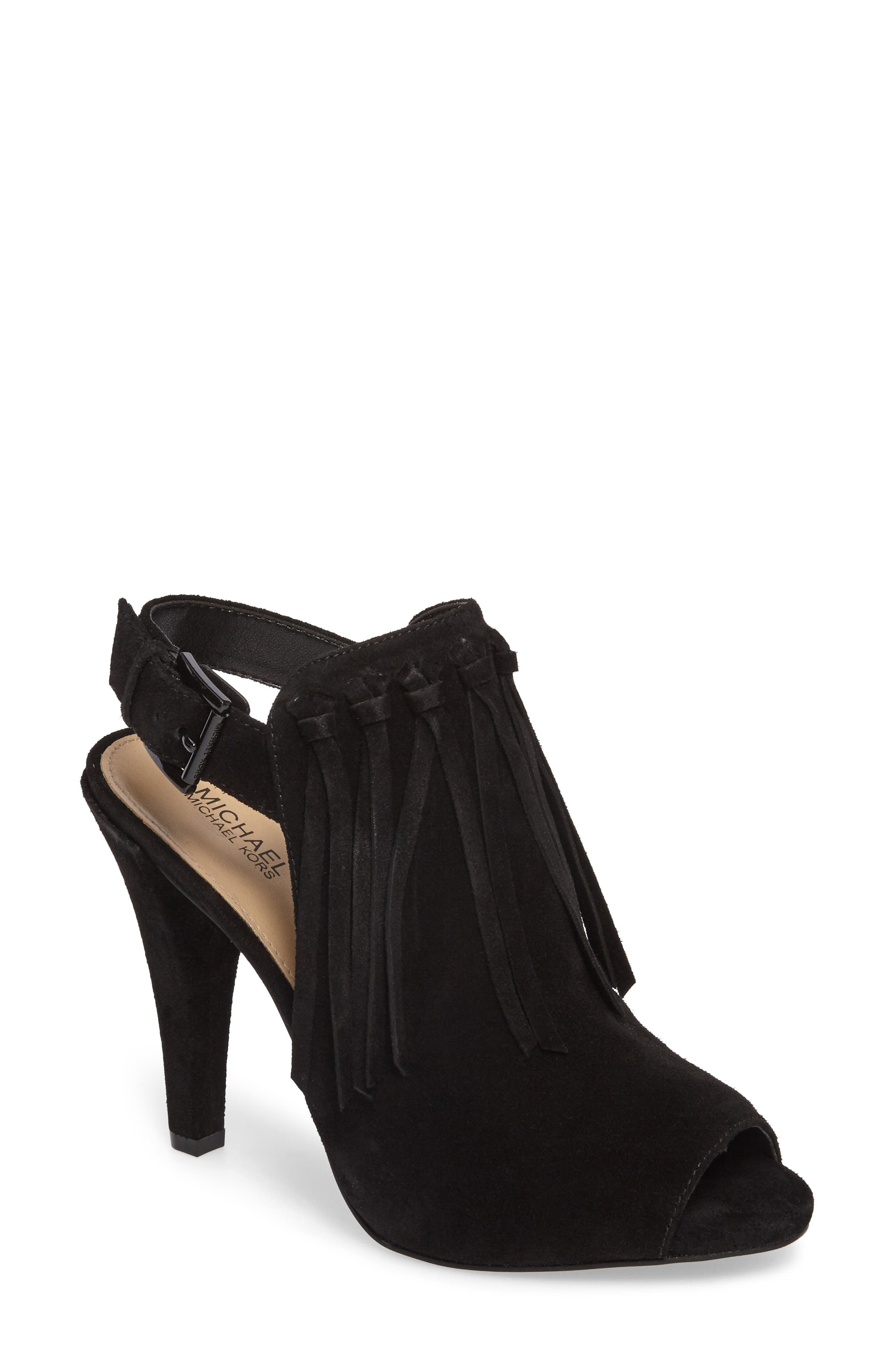 Kassidy Open Toe Bootie,                             Main thumbnail 1, color,