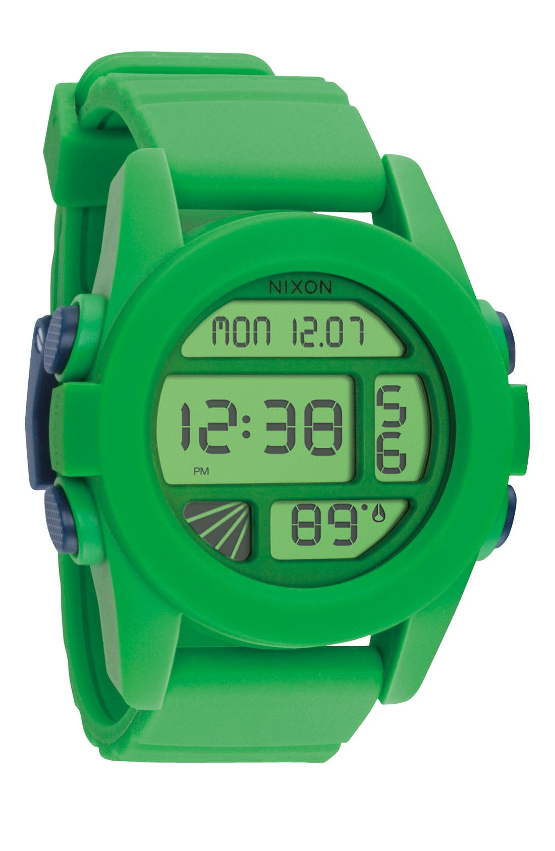 'The Unit' Round Digital Watch, 44mm,                             Main thumbnail 8, color,