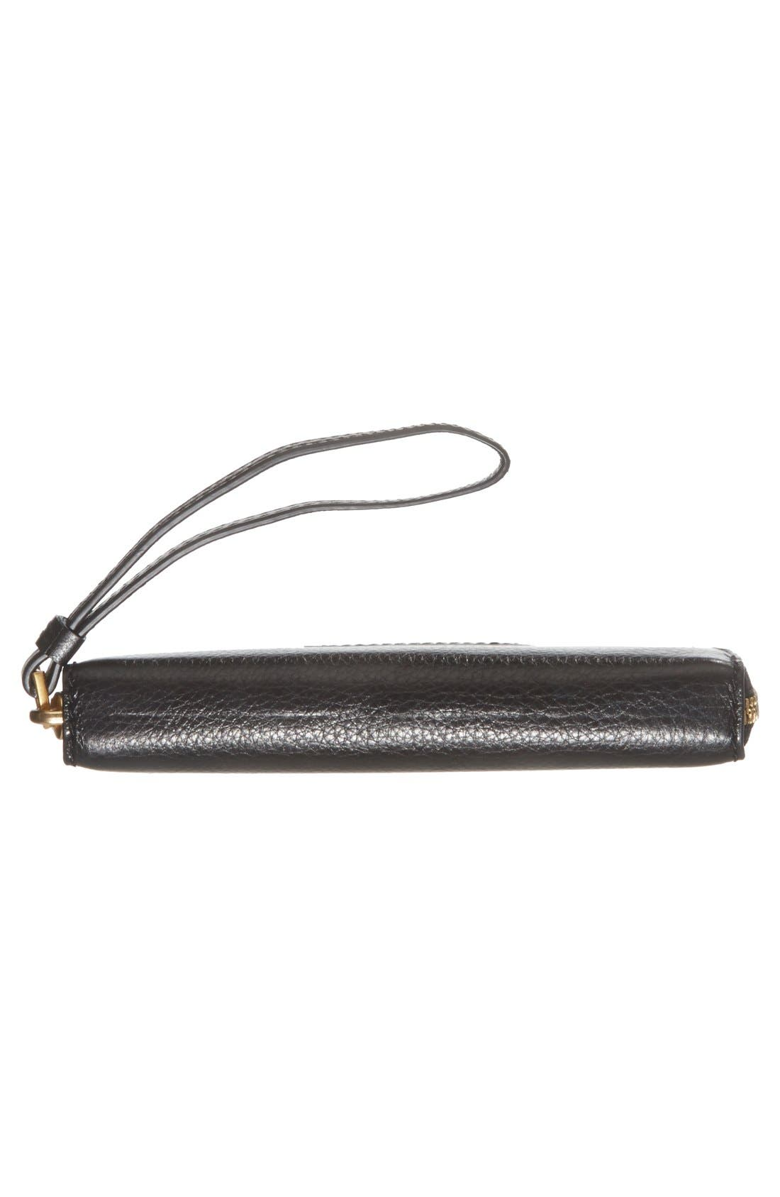 MARC JACOBS,                             MARC BY MARC JACOBS 'Too Hot To Handle - Wingman' Wallet Wristlet,                             Alternate thumbnail 4, color,                             001