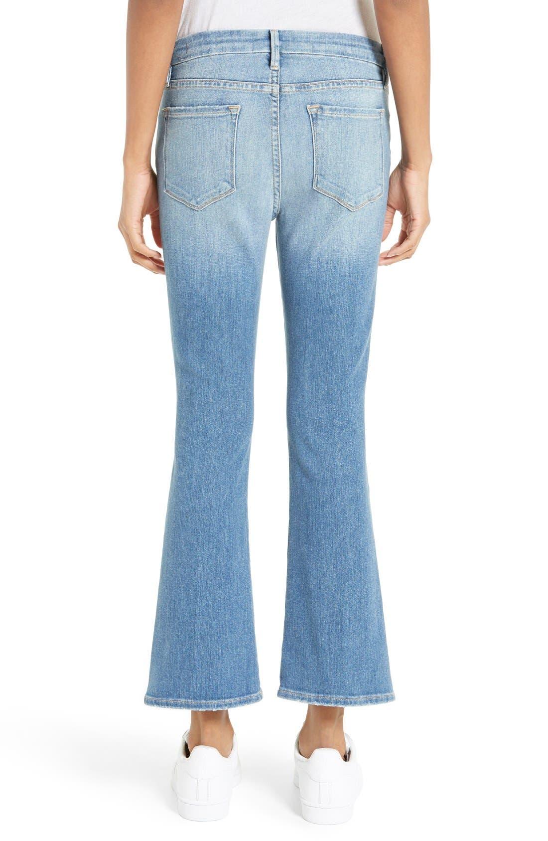 Le Crop Mini Boot Jeans,                             Alternate thumbnail 6, color,