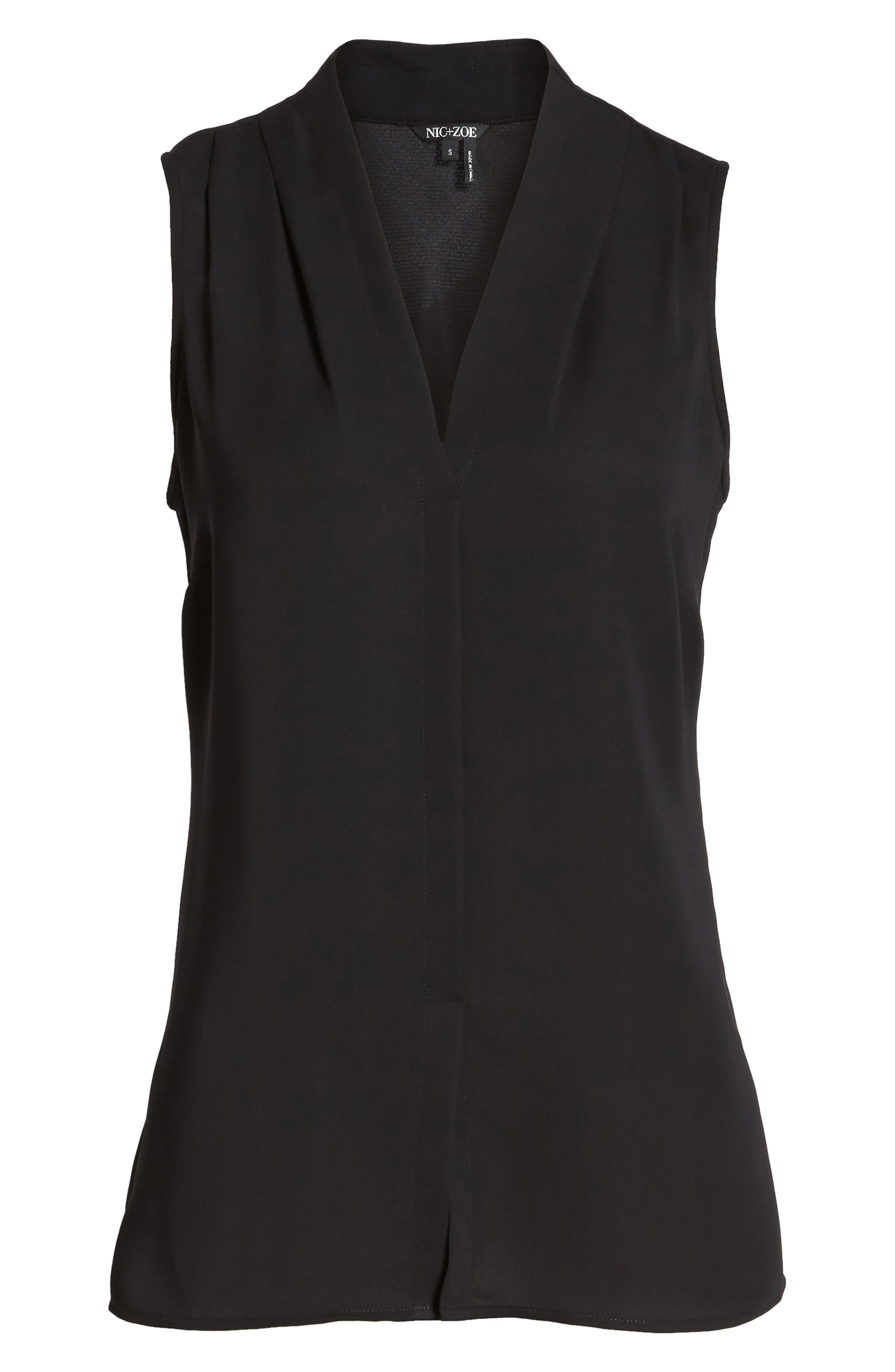 Day to Night Top,                             Alternate thumbnail 6, color,                             BLACK ONYX