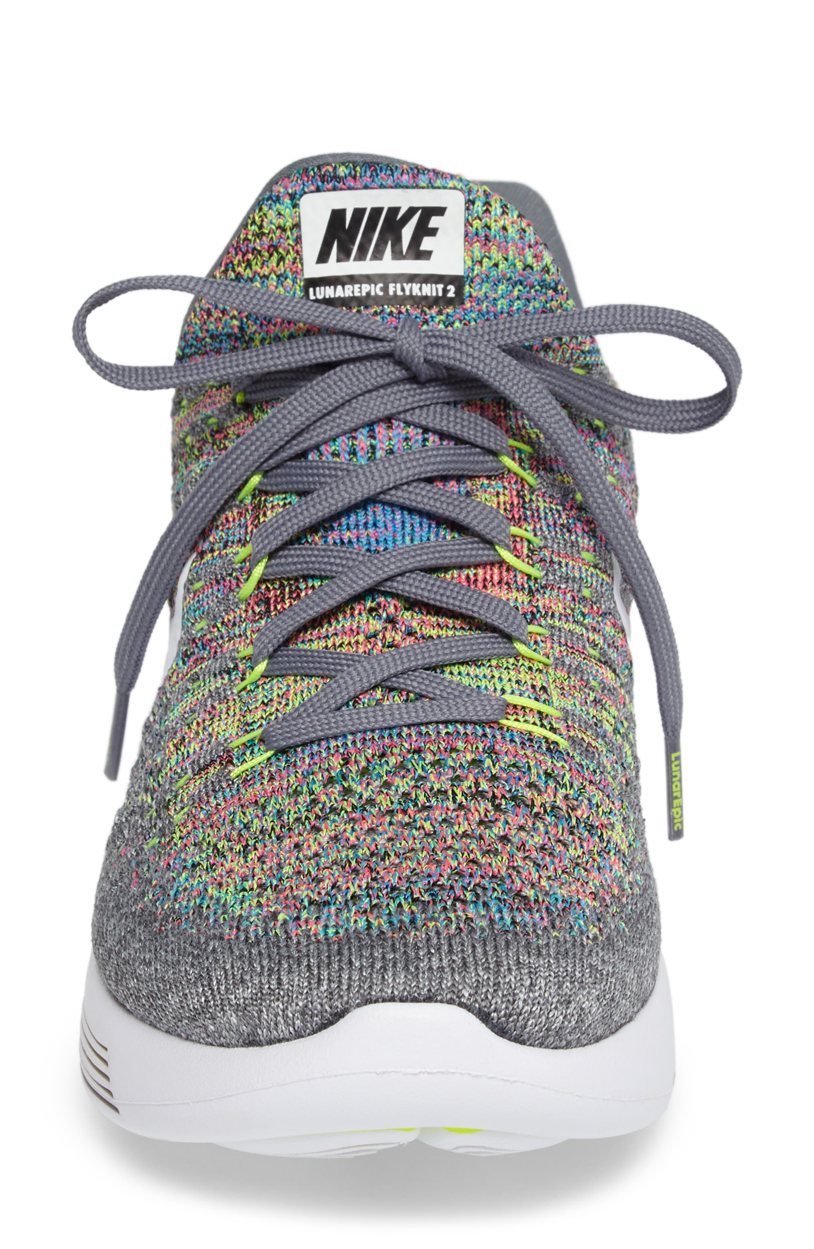 LunarEpic Low Flyknit 2 Running Shoe,                             Alternate thumbnail 63, color,