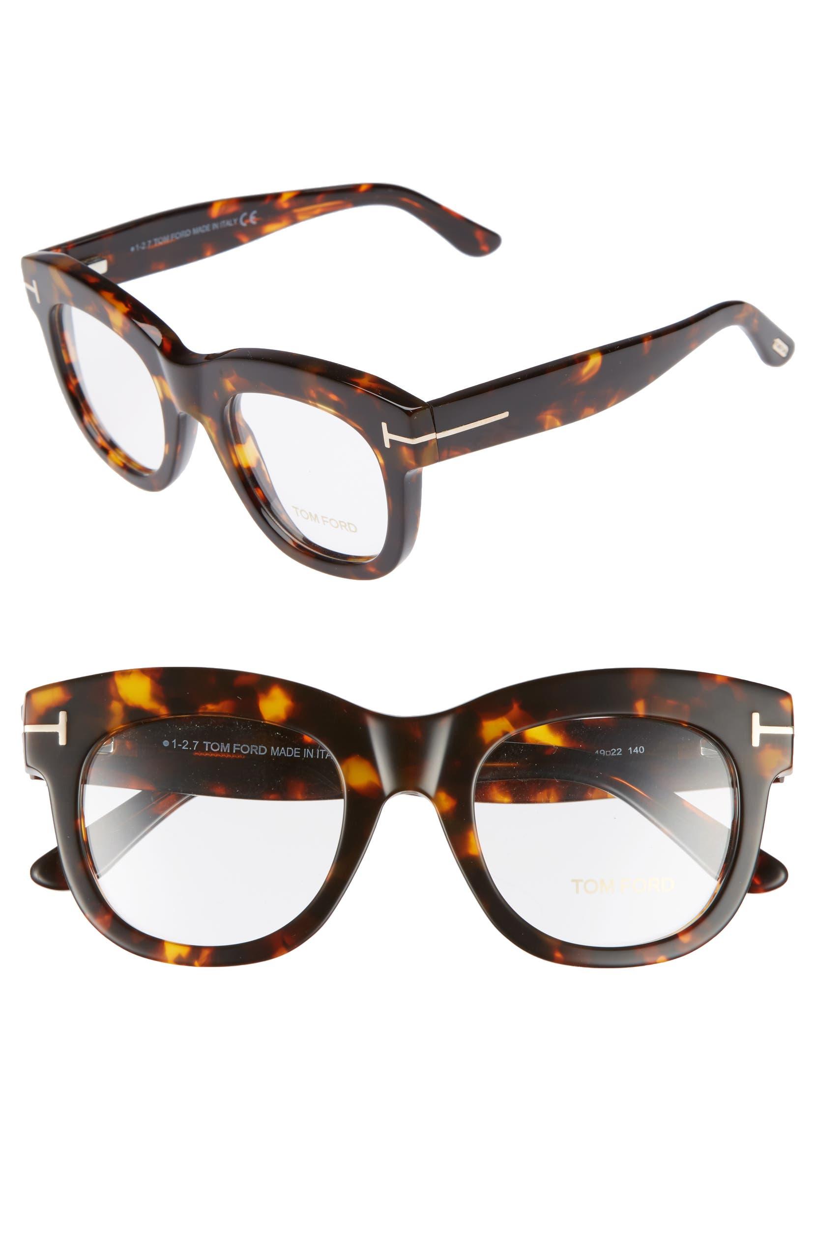 2a403a487c Tom Ford 49mm Optical Glasses