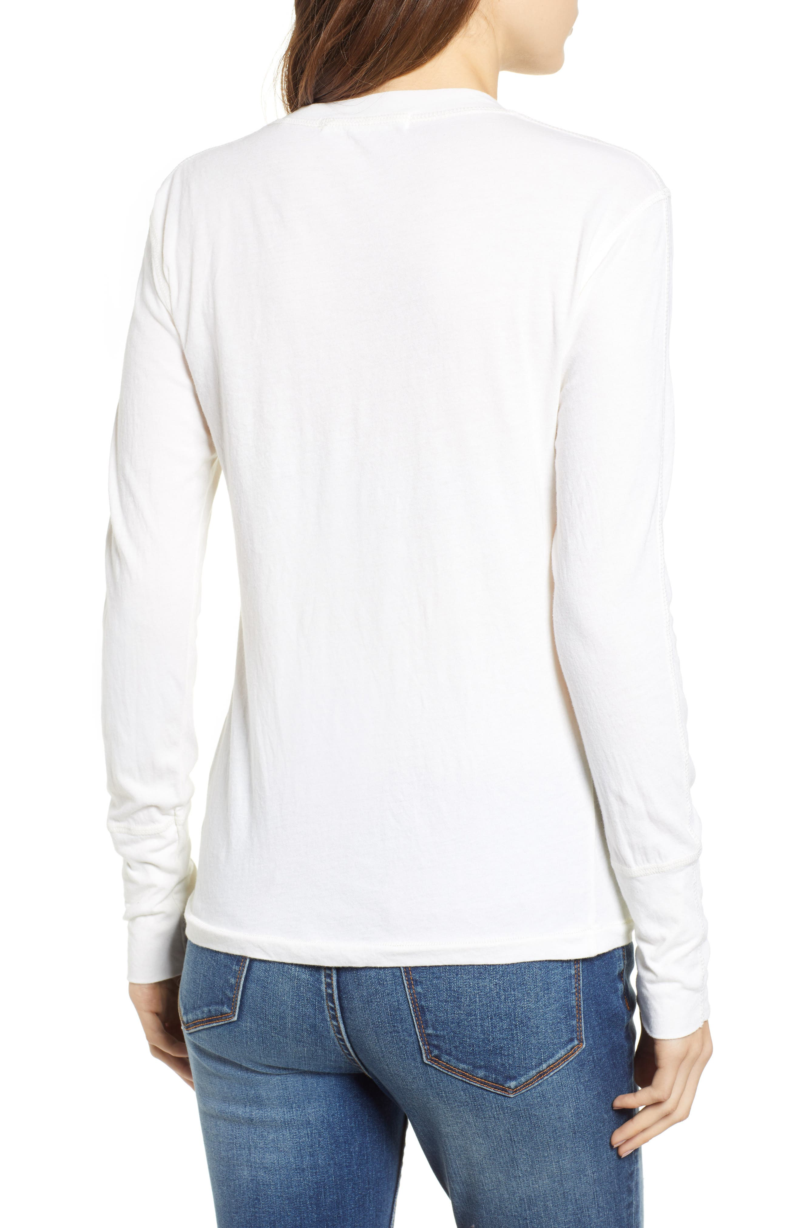 Like a Rollin Stone Henley,                             Alternate thumbnail 2, color,                             OFF WHITE