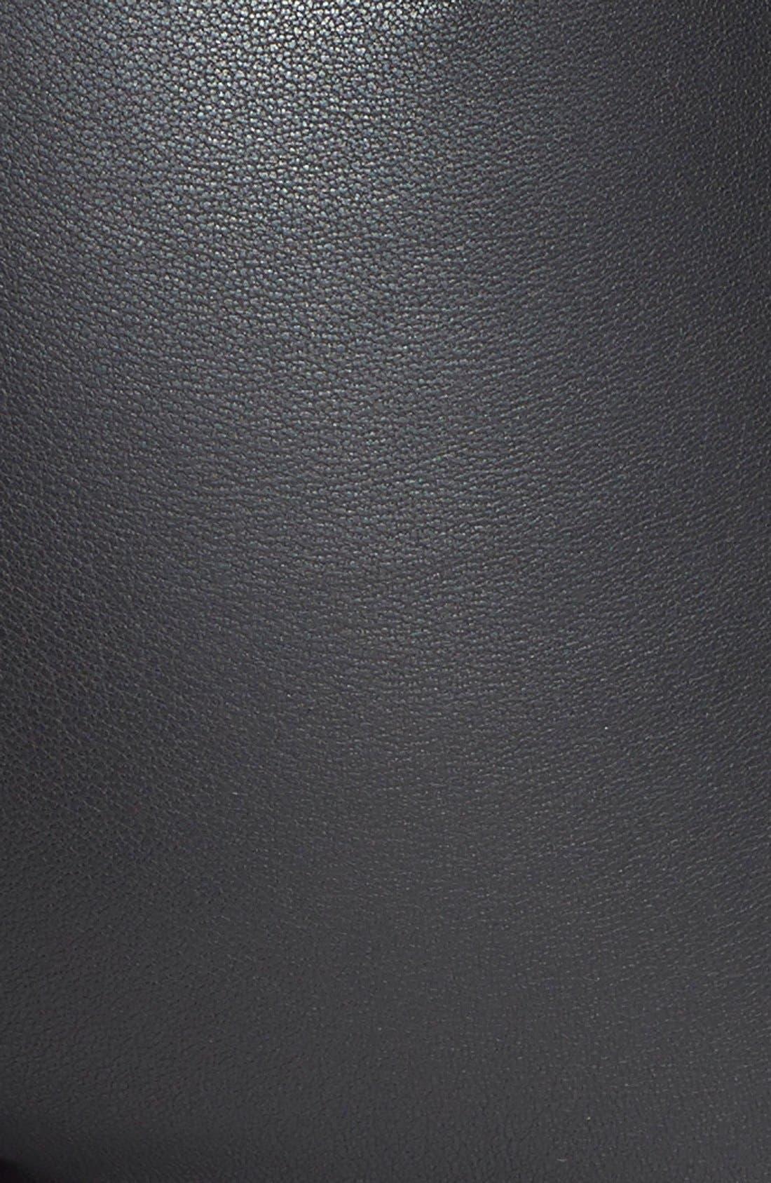 'Abdelle' Leather Leggings,                             Alternate thumbnail 2, color,                             001