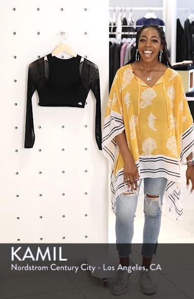Pivot Layered Look Crop Top, sales video thumbnail
