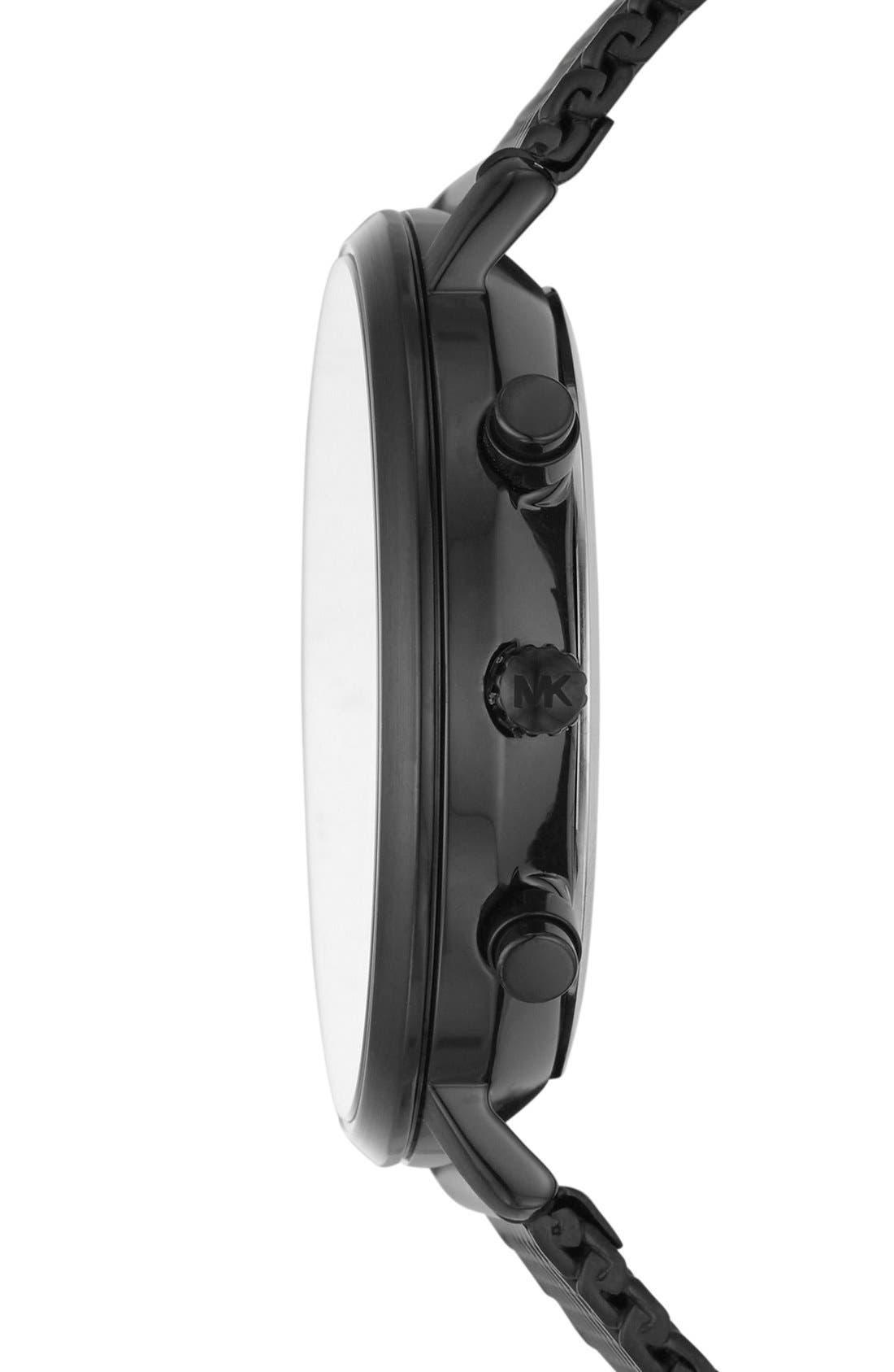 Jaryn Chronograph Bracelet Watch, 42mm,                             Alternate thumbnail 3, color,                             001