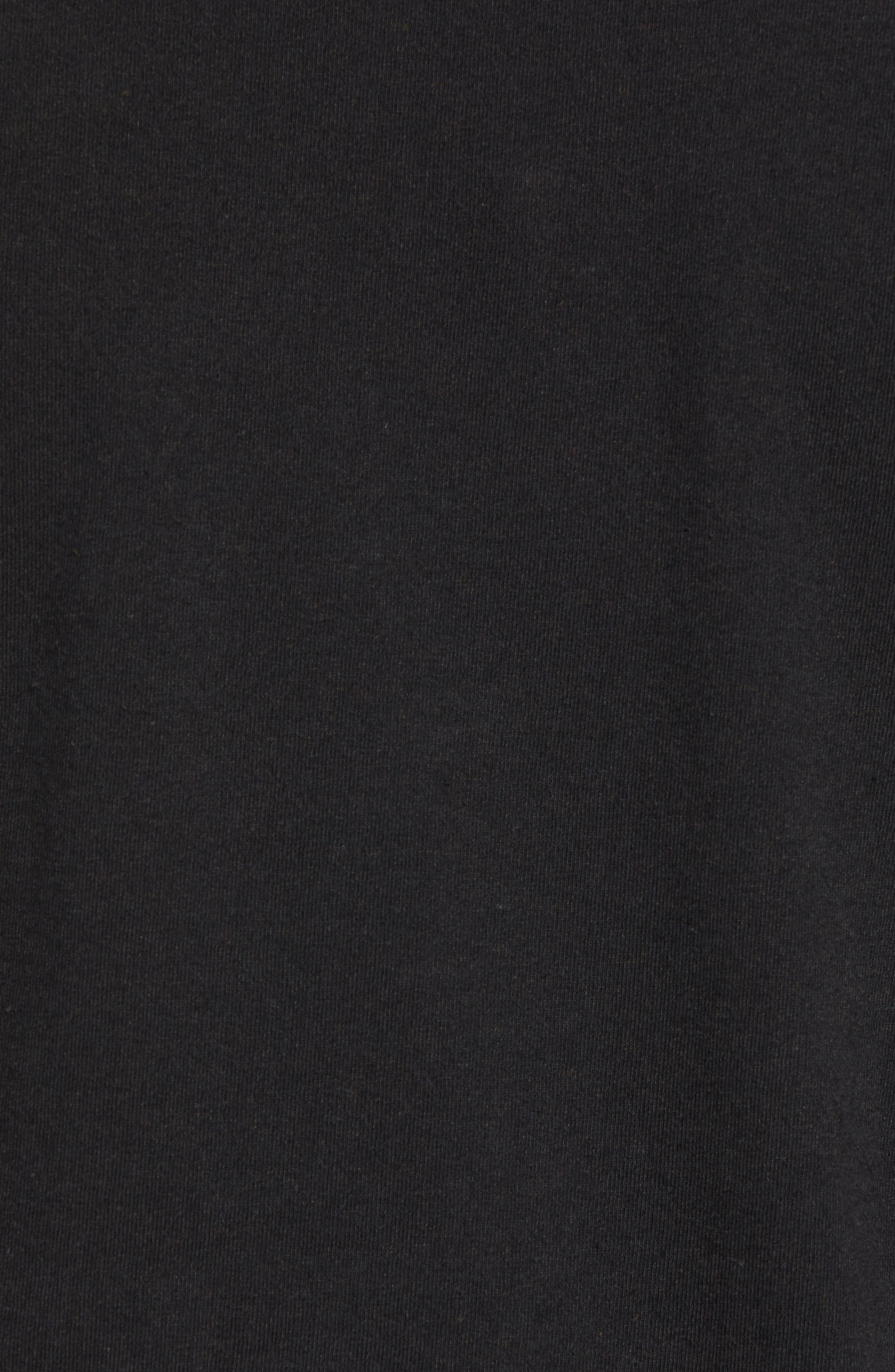Shop Sticker Responsibili-Tee T-Shirt,                             Alternate thumbnail 5, color,                             BLACK