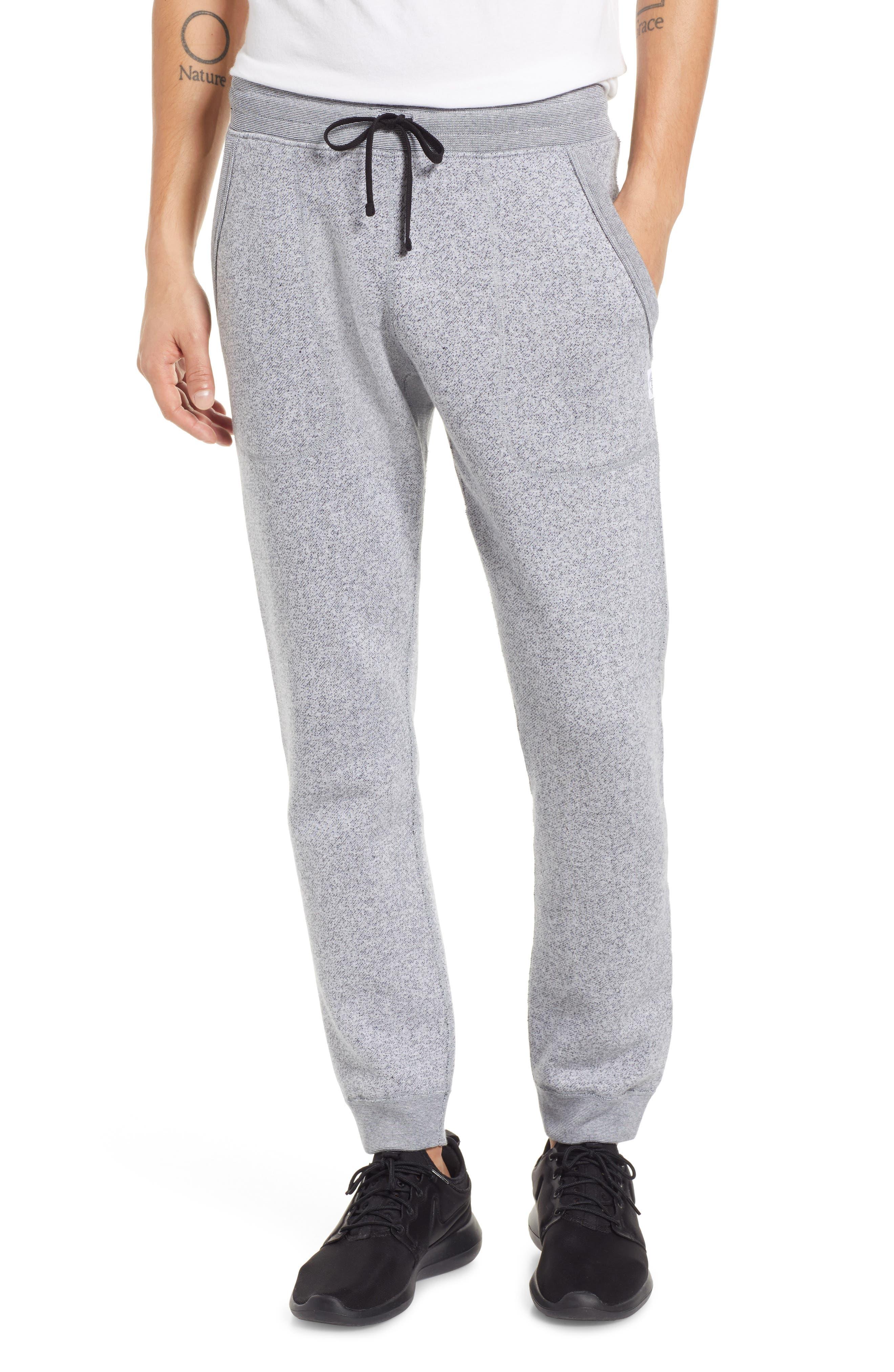 Tiger Slim Jogger Sweatpants,                             Main thumbnail 1, color,                             WHITE