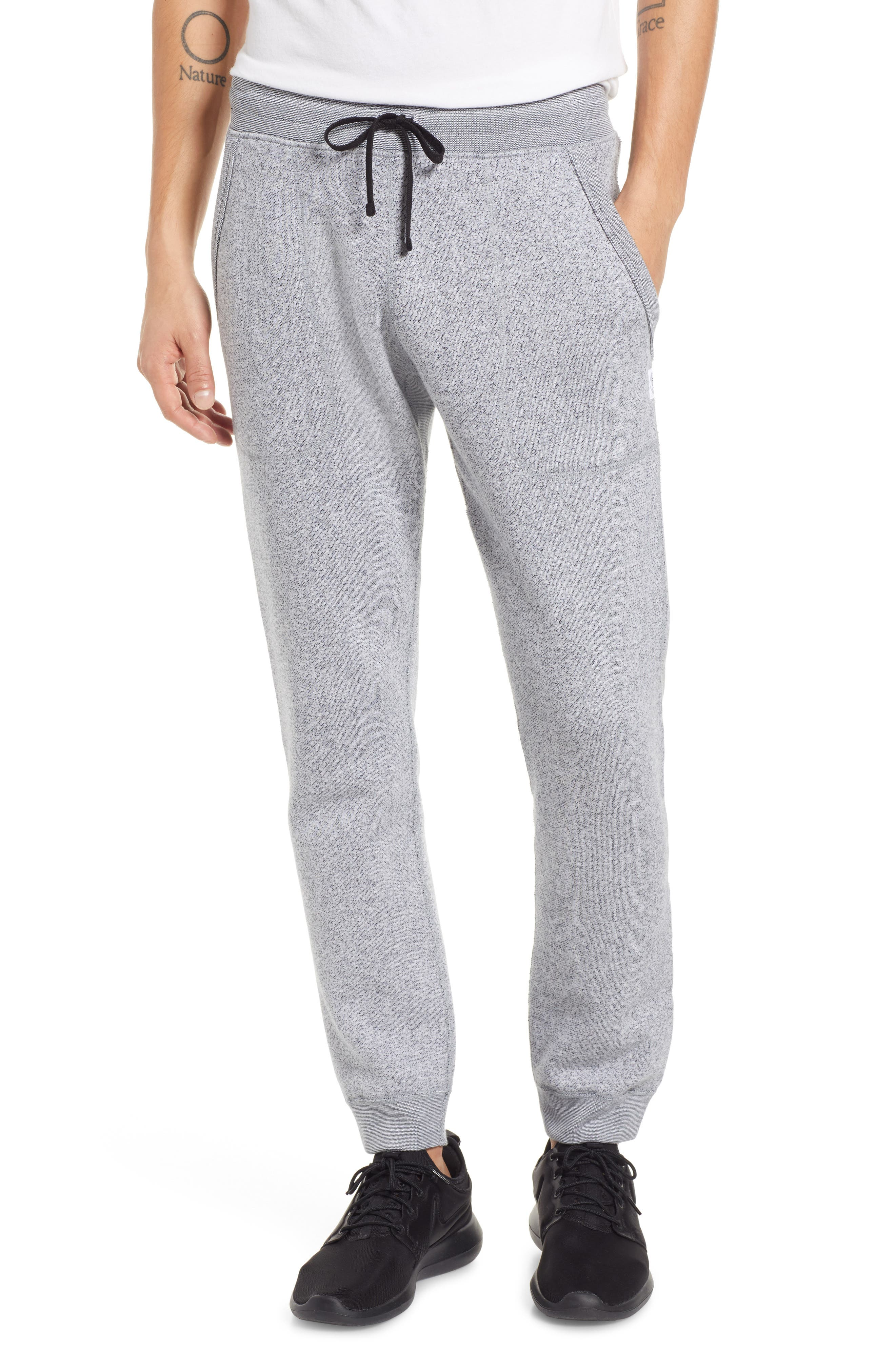 Tiger Slim Jogger Sweatpants,                         Main,                         color, WHITE