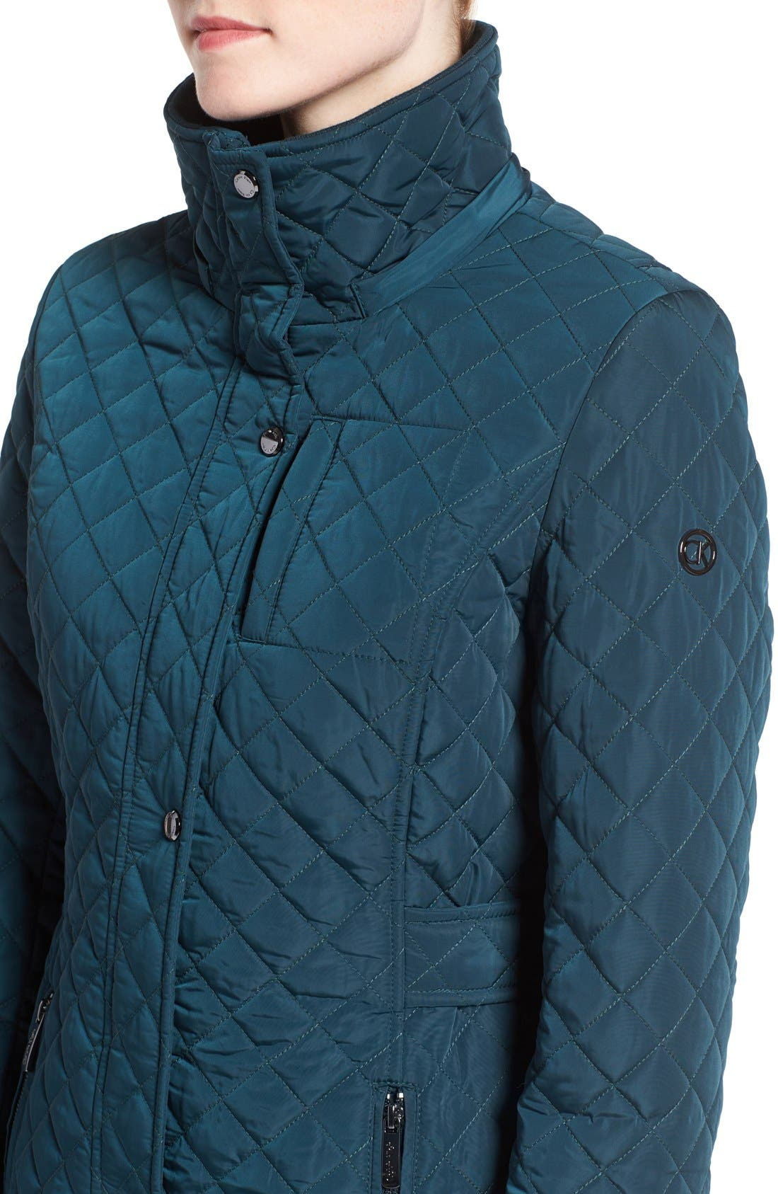 Hooded Quilted Jacket,                             Alternate thumbnail 25, color,