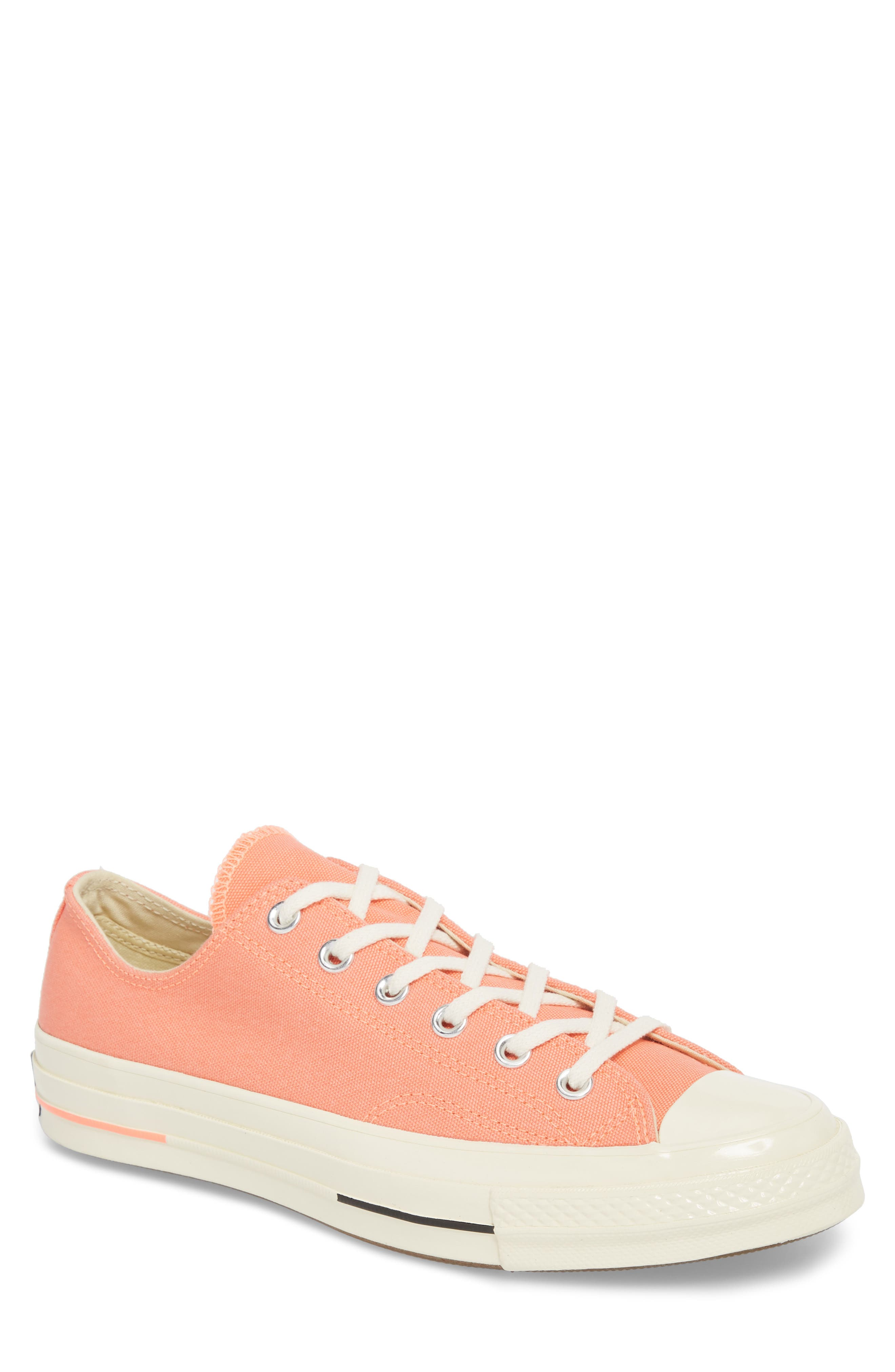 Chuck Taylor<sup>®</sup> All Star<sup>®</sup> 70 Bright Low Top Sneaker,                             Main thumbnail 1, color,                             CRIMSON PULSE