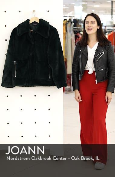 Salma Faux Fur Jacket, sales video thumbnail