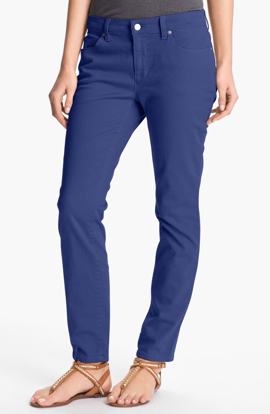 Skinny Ankle Jeans,                             Main thumbnail 10, color,