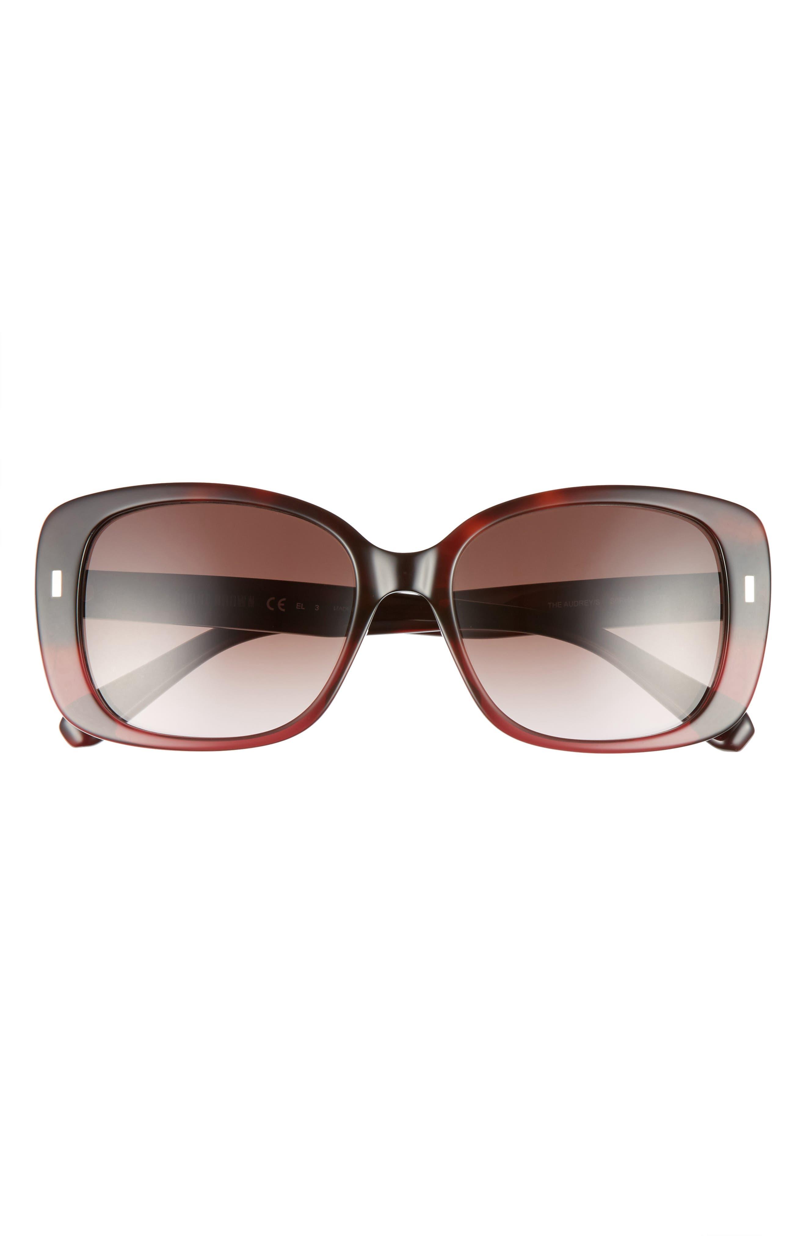 The Audrey 53mm Square Sunglasses,                             Alternate thumbnail 12, color,