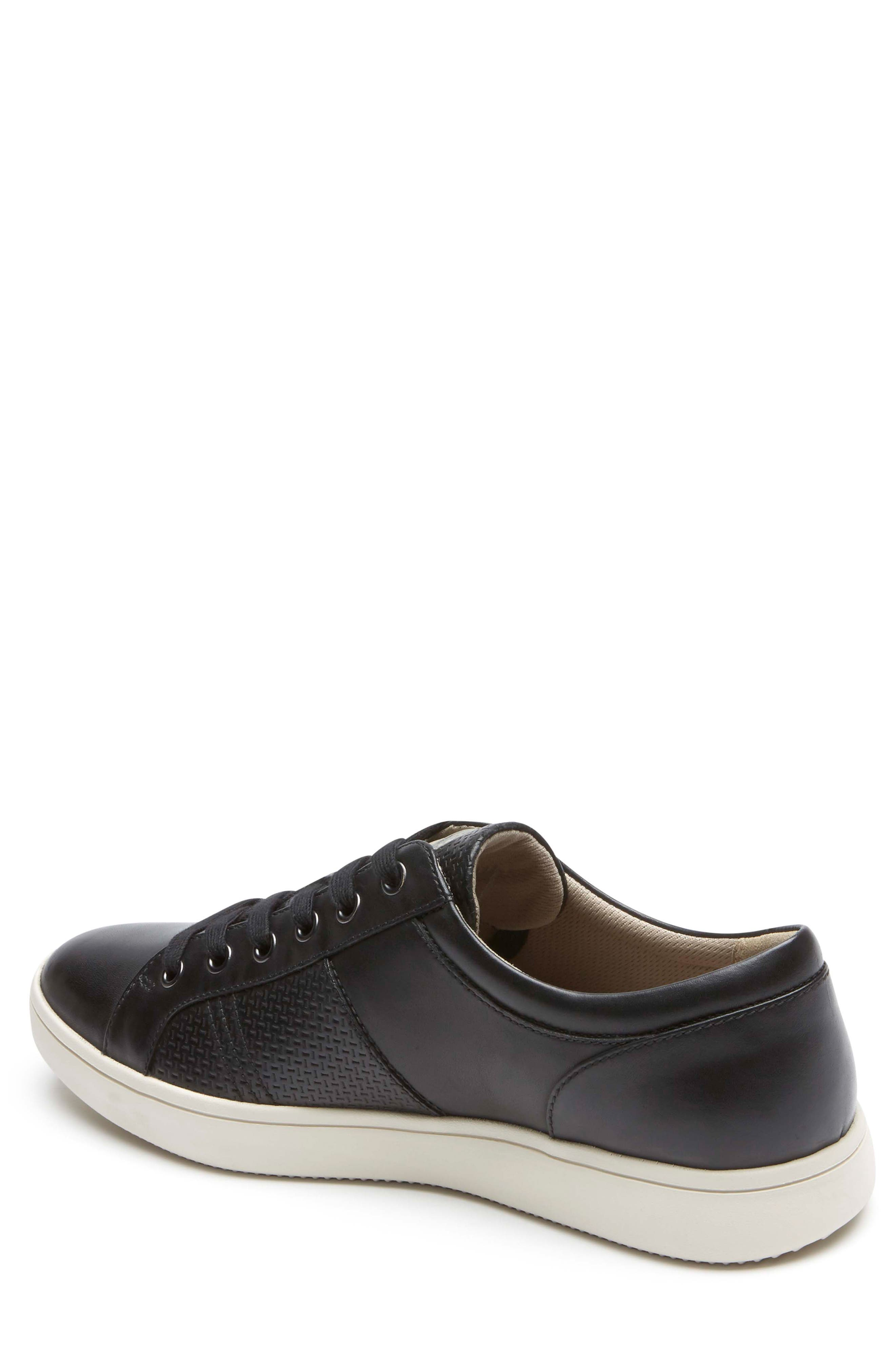 City Lites Collection Lace-Up Sneaker,                             Alternate thumbnail 2, color,                             001