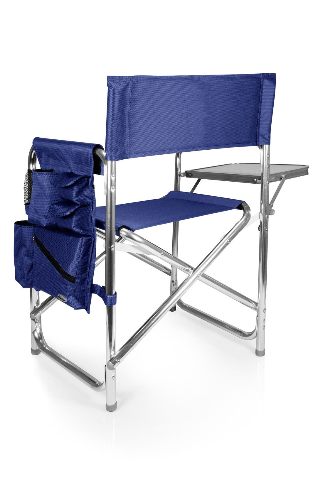 'Sports' Folding Chair,                             Alternate thumbnail 3, color,                             NAVY