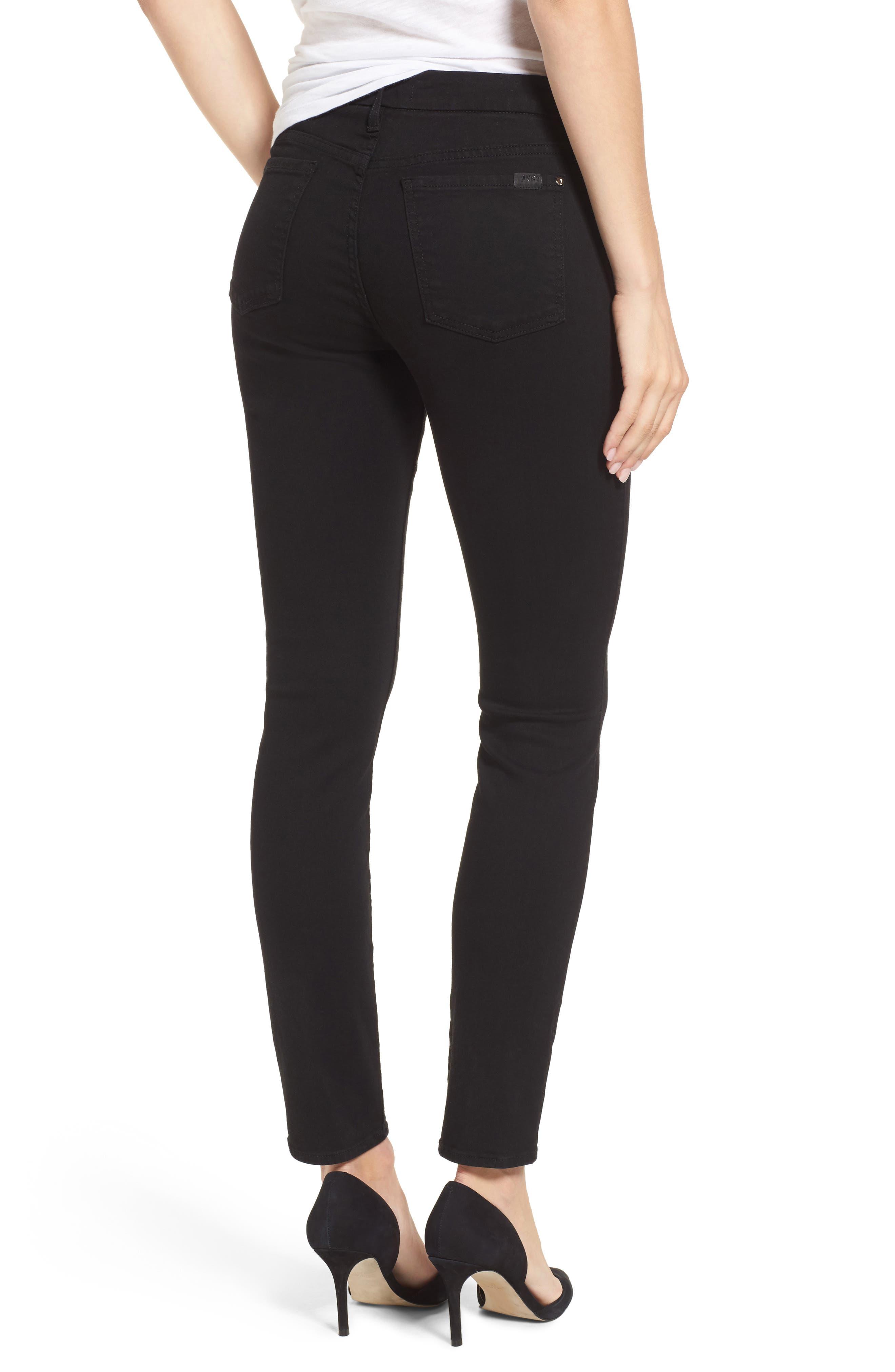 Skinny Jeans,                             Alternate thumbnail 2, color,                             RICHE TOUCH BLACK NOIR